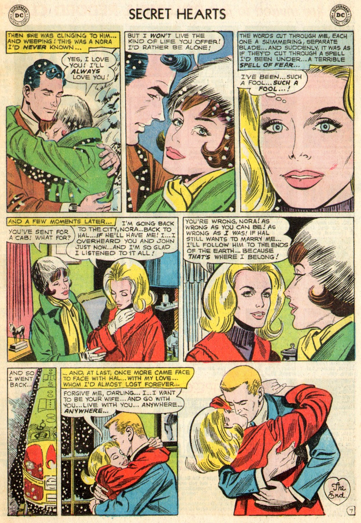 Read online Secret Hearts comic -  Issue #103 - 17