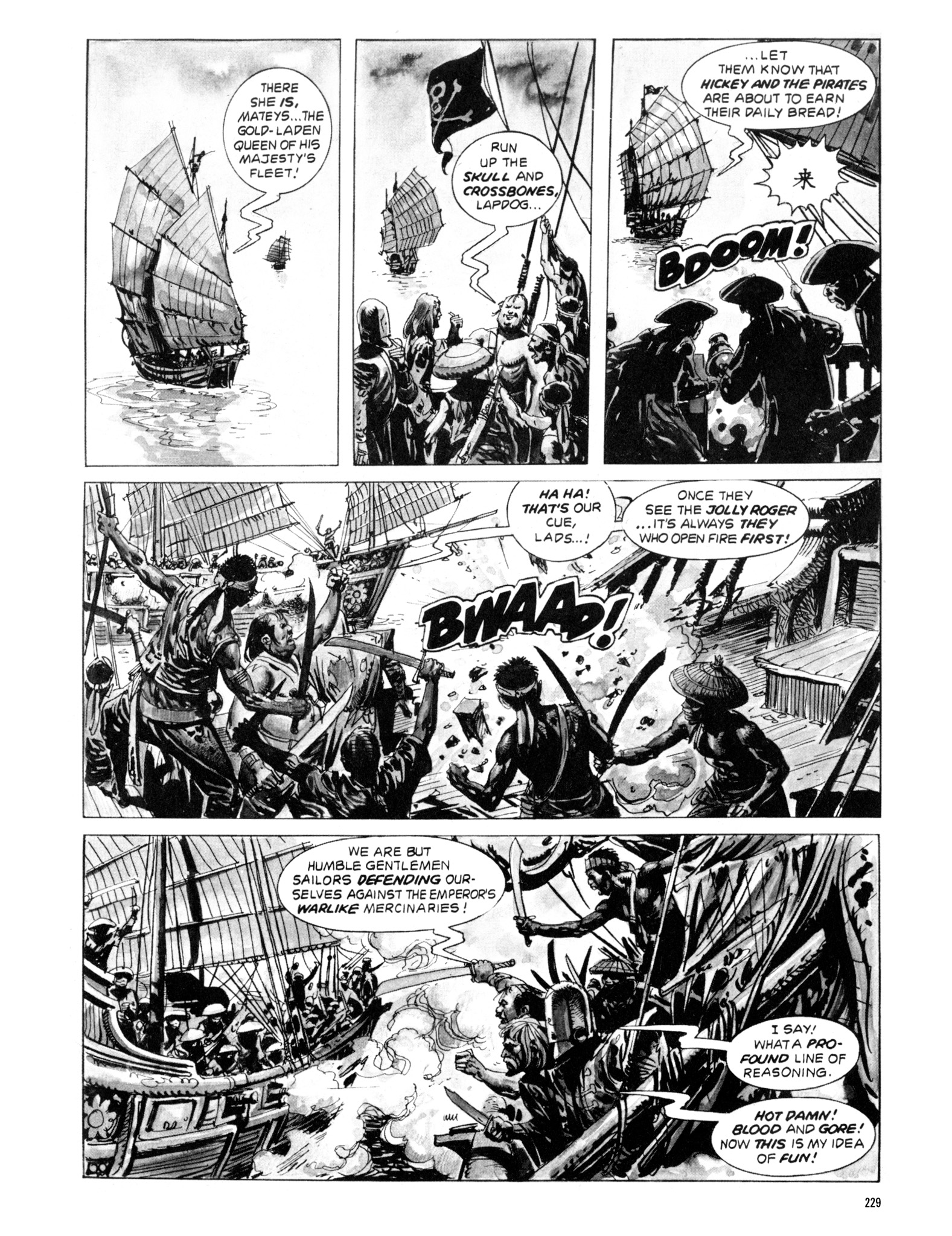 Read online Eerie Archives comic -  Issue # TPB 20 - 229