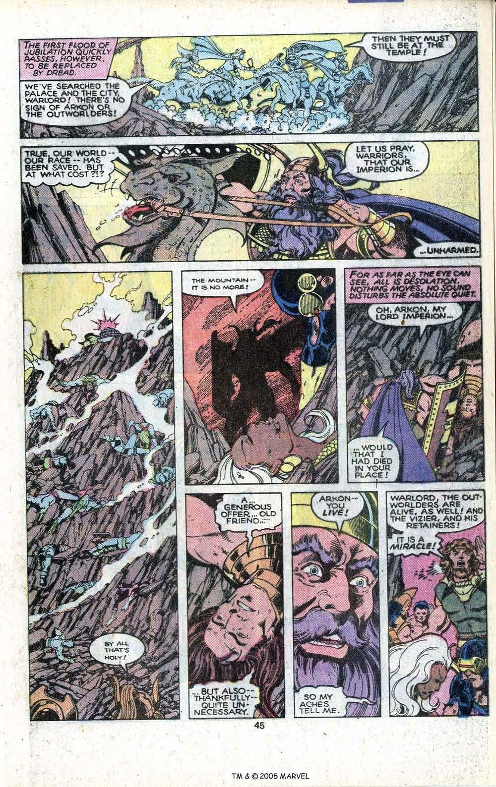 Read online Uncanny X-Men (1963) comic -  Issue # _Annual 3 - 47