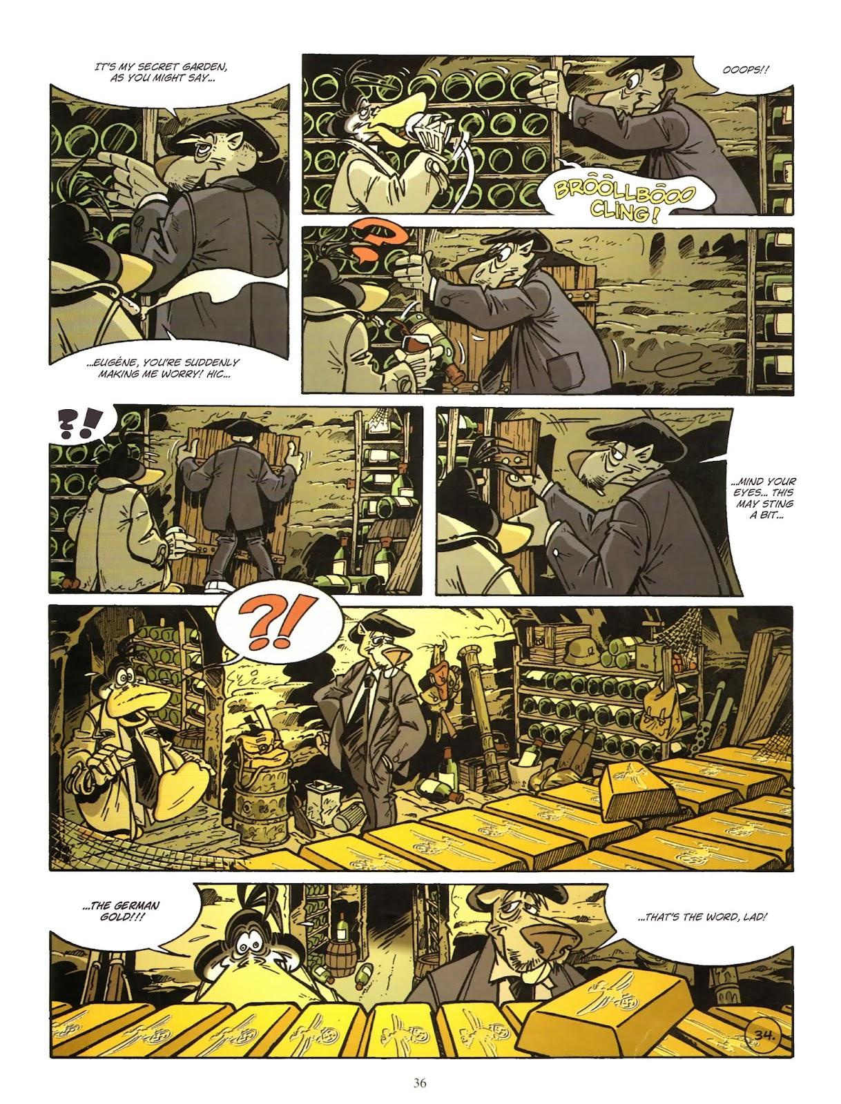 Une enquête de l'inspecteur Canardo issue 11 - Page 37