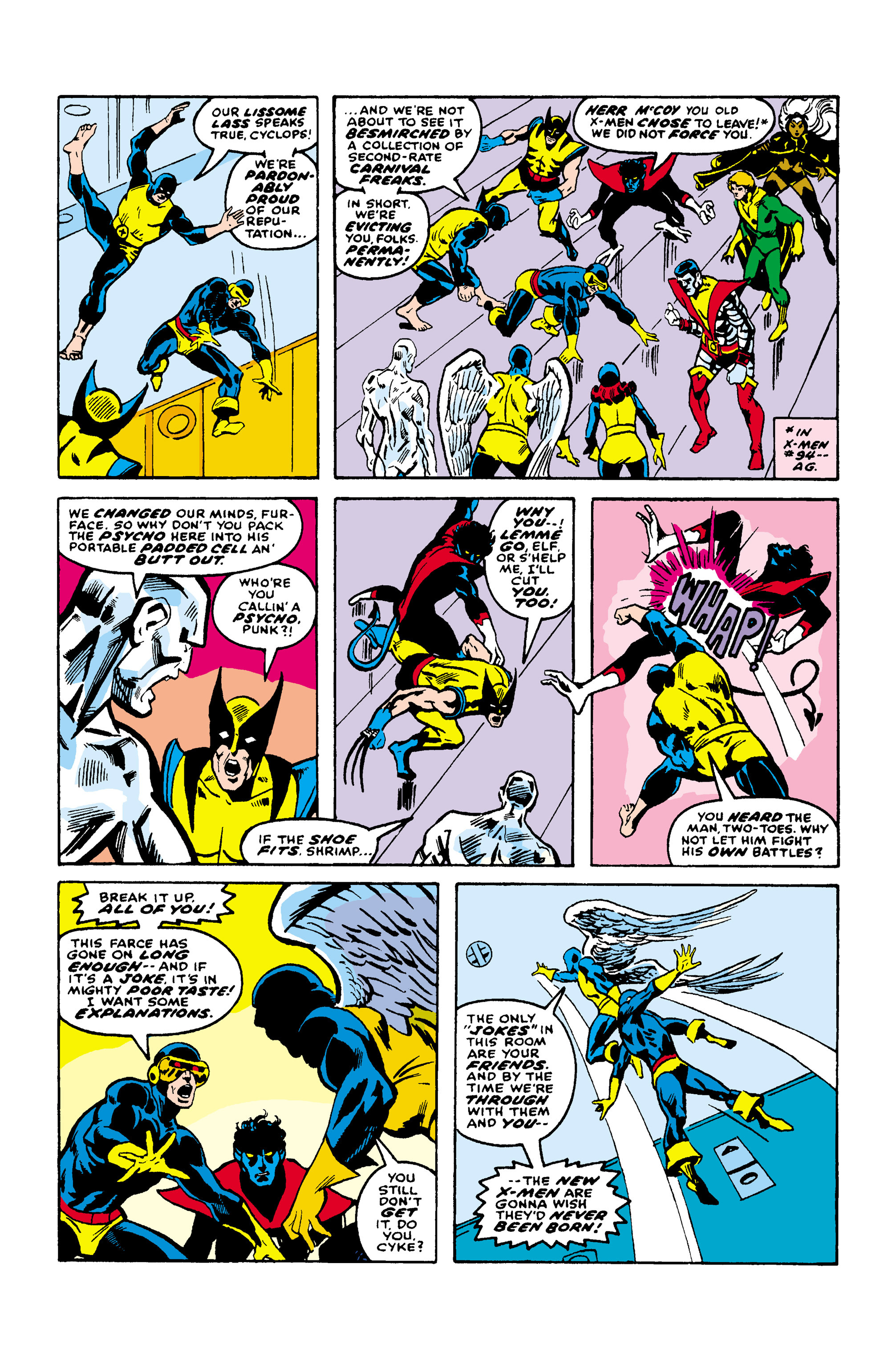 Read online Uncanny X-Men (1963) comic -  Issue #106 - 8