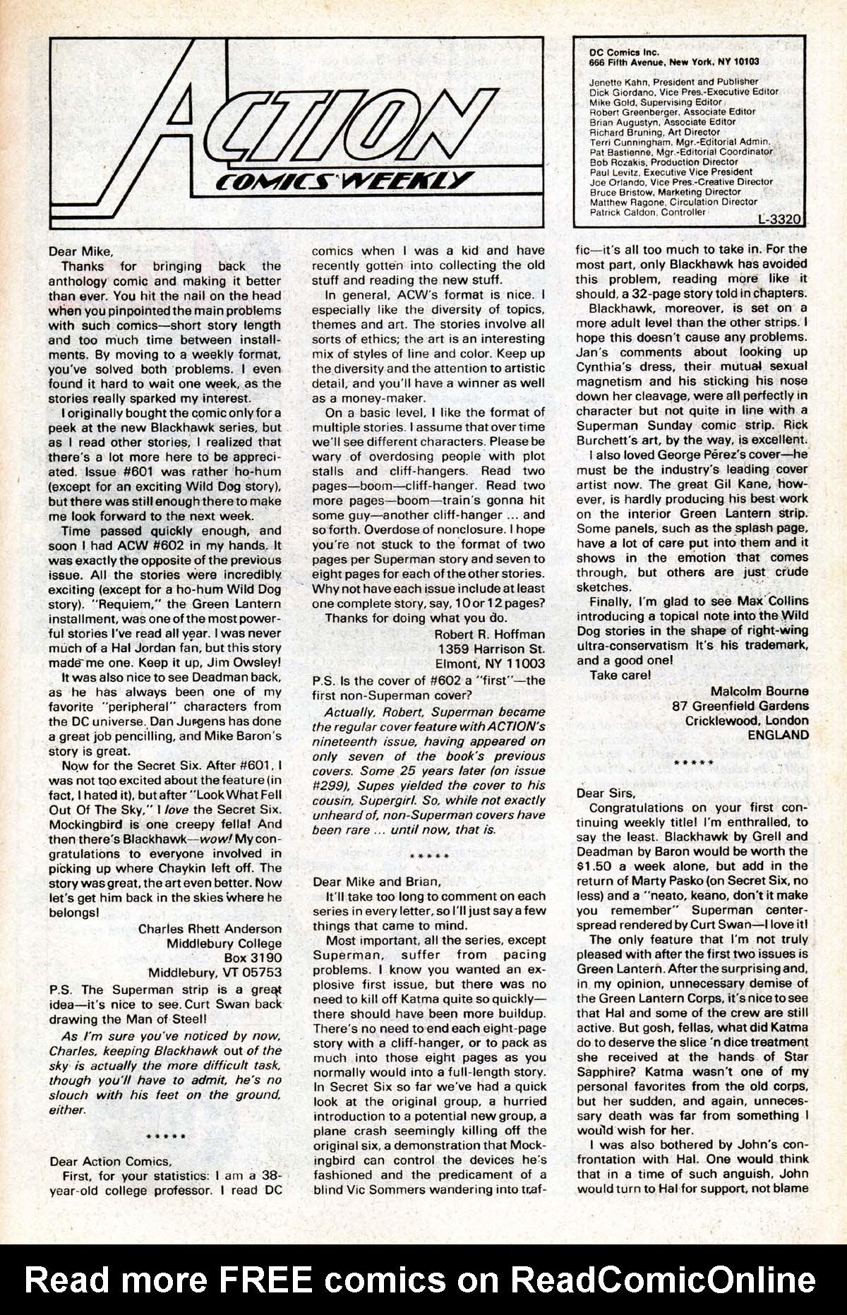 Action Comics (1938) 613 Page 36