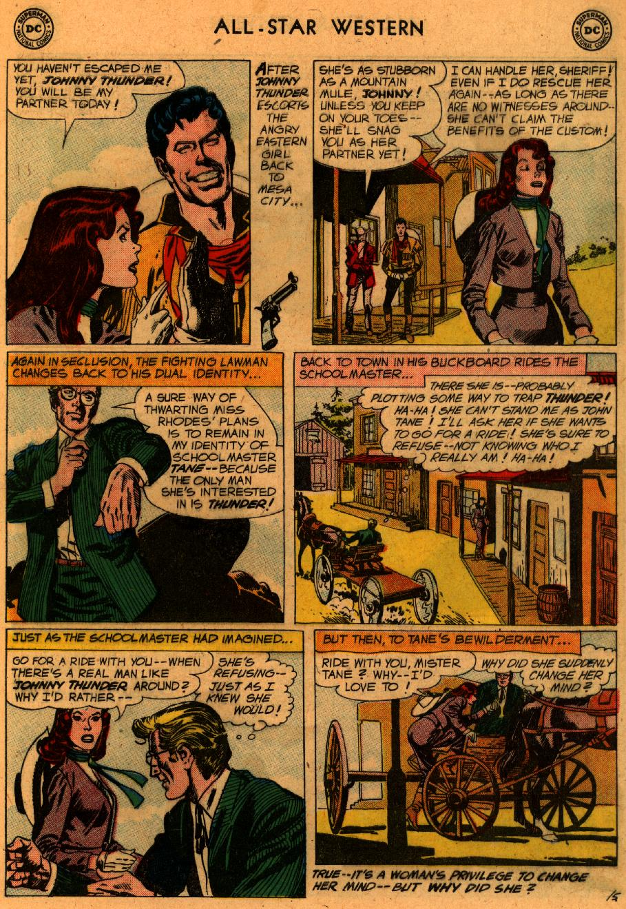 Read online All-Star Western (1951) comic -  Issue #107 - 7