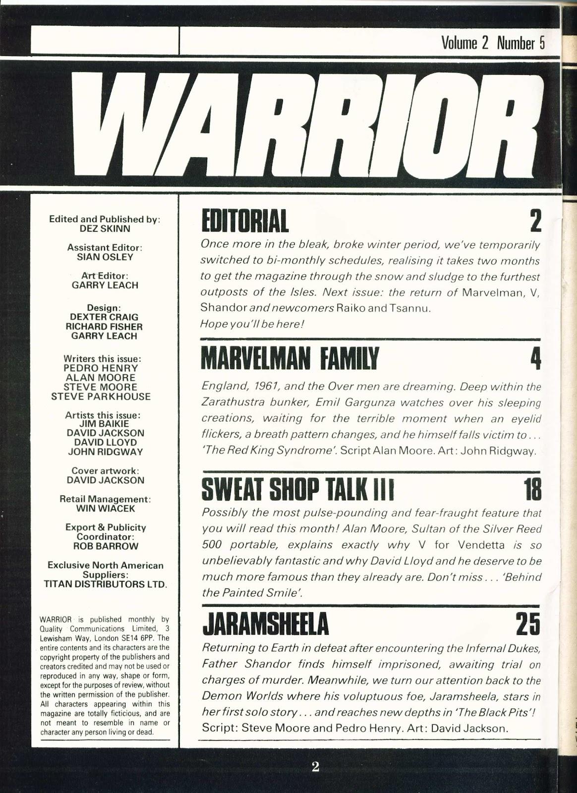 Warrior Issue #17 #18 - English 2