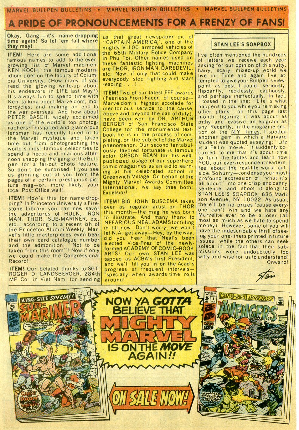 Read online Sgt. Fury comic -  Issue #82 - 32