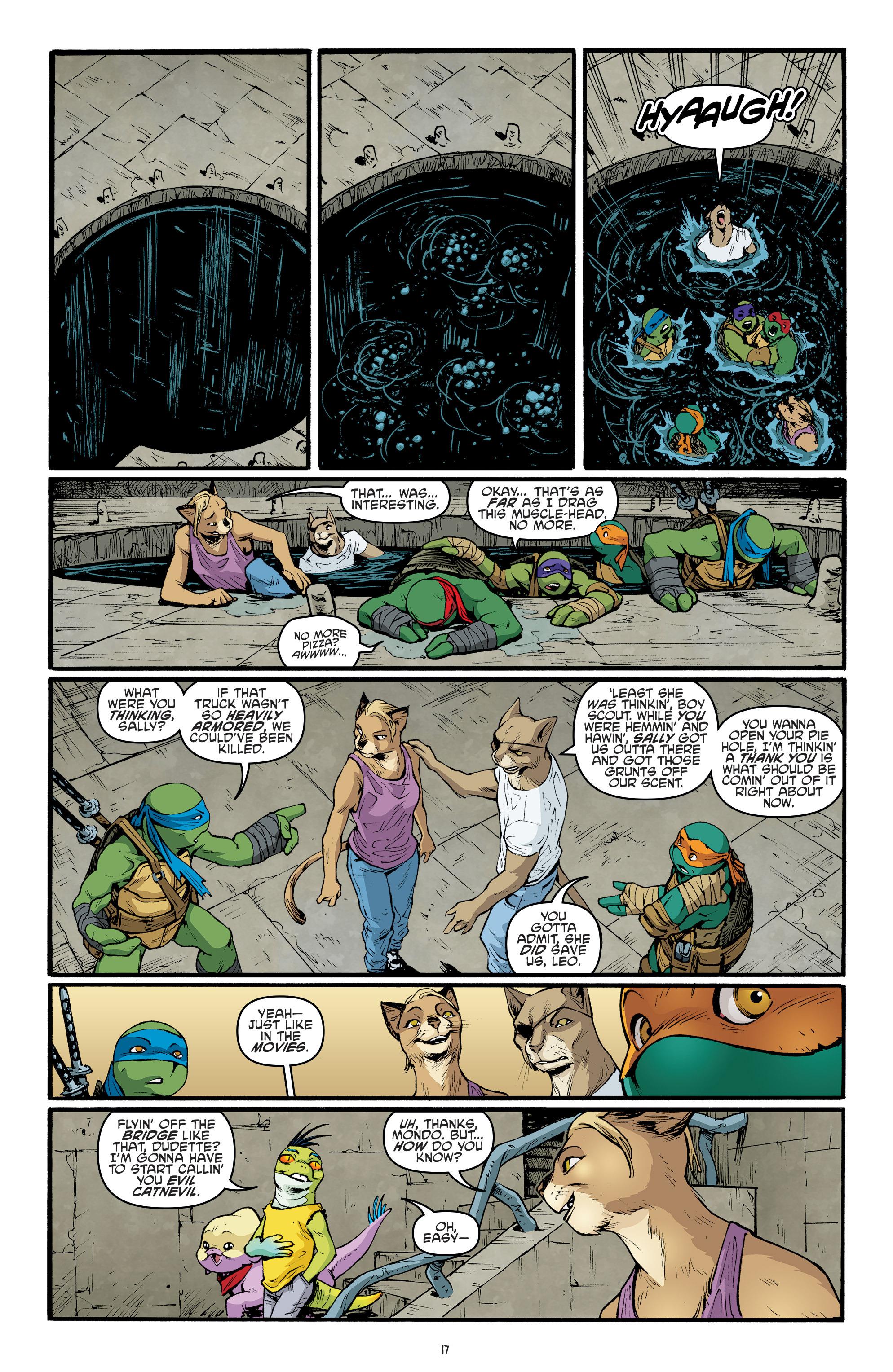 Read online Teenage Mutant Ninja Turtles (2011) comic -  Issue #69 - 19