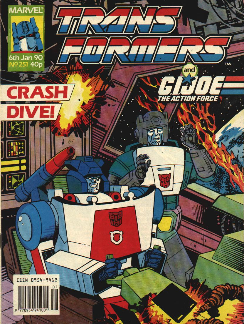 The Transformers (UK) 251 Page 1