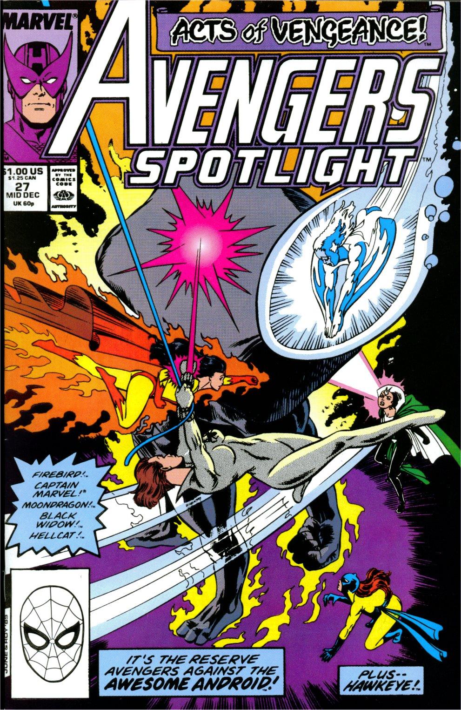 Avengers Spotlight 27 Page 1