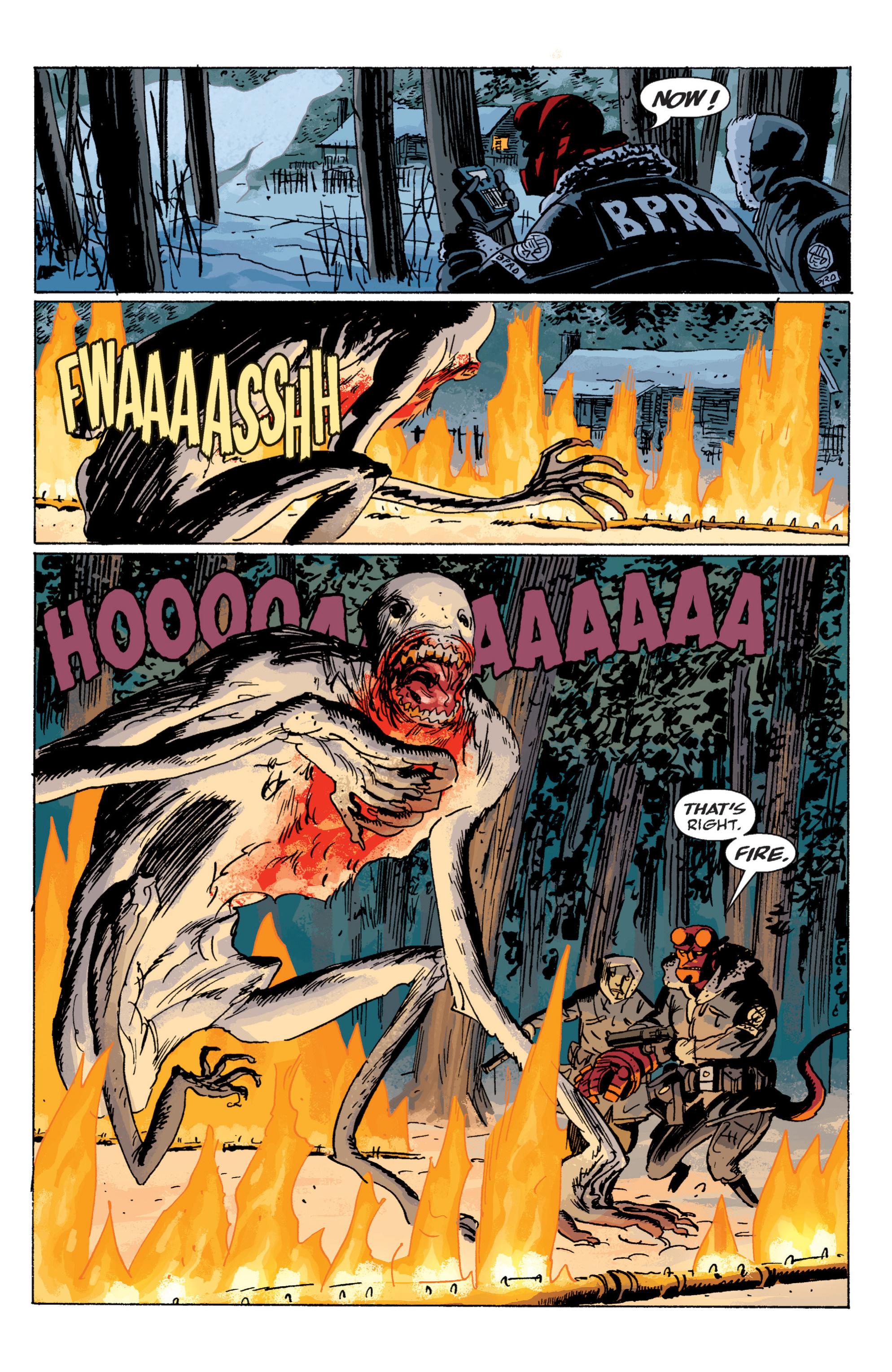 Read online B.P.R.D. (2003) comic -  Issue # TPB 6 - 102