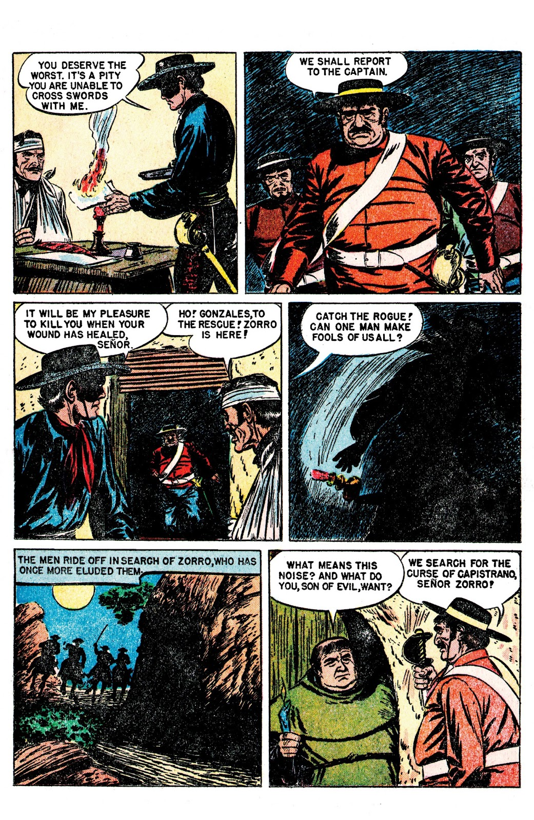 Read online AM Archives: The Mark of Zorro #1 1949 Dell Edition comic -  Issue #1 1949 Dell Edition Full - 21