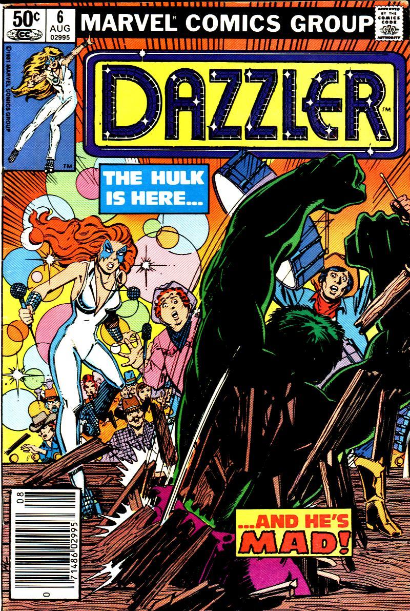 Dazzler (1981) 6 Page 1