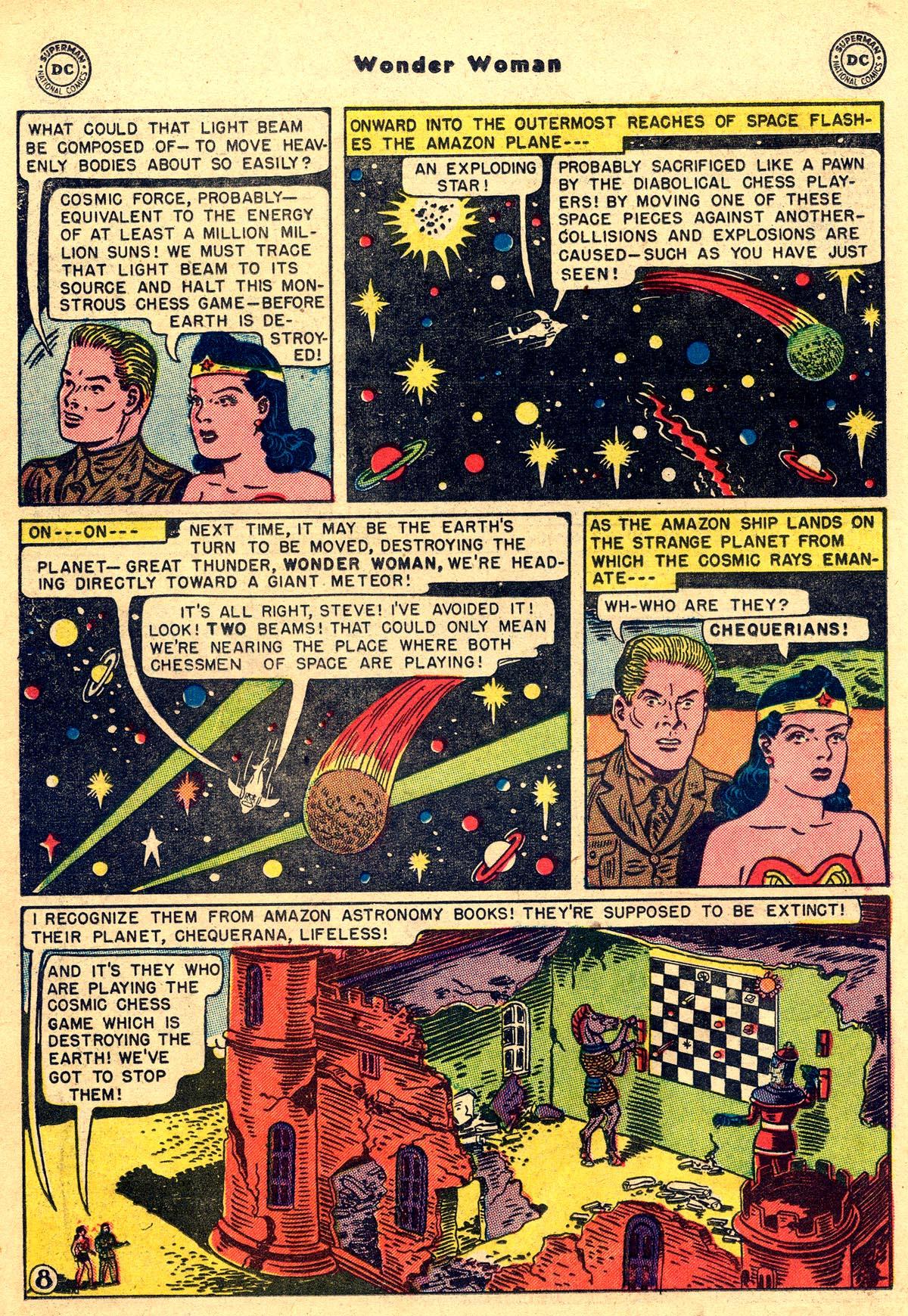 Read online Wonder Woman (1942) comic -  Issue #55 - 22