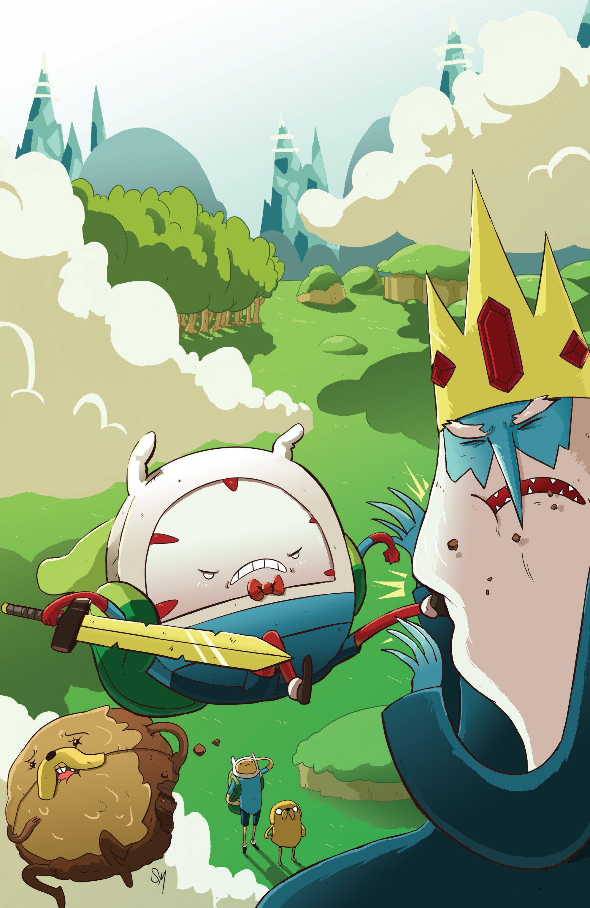 Read online Adventure Time: Candy Capers comic -  Issue #2 - 4