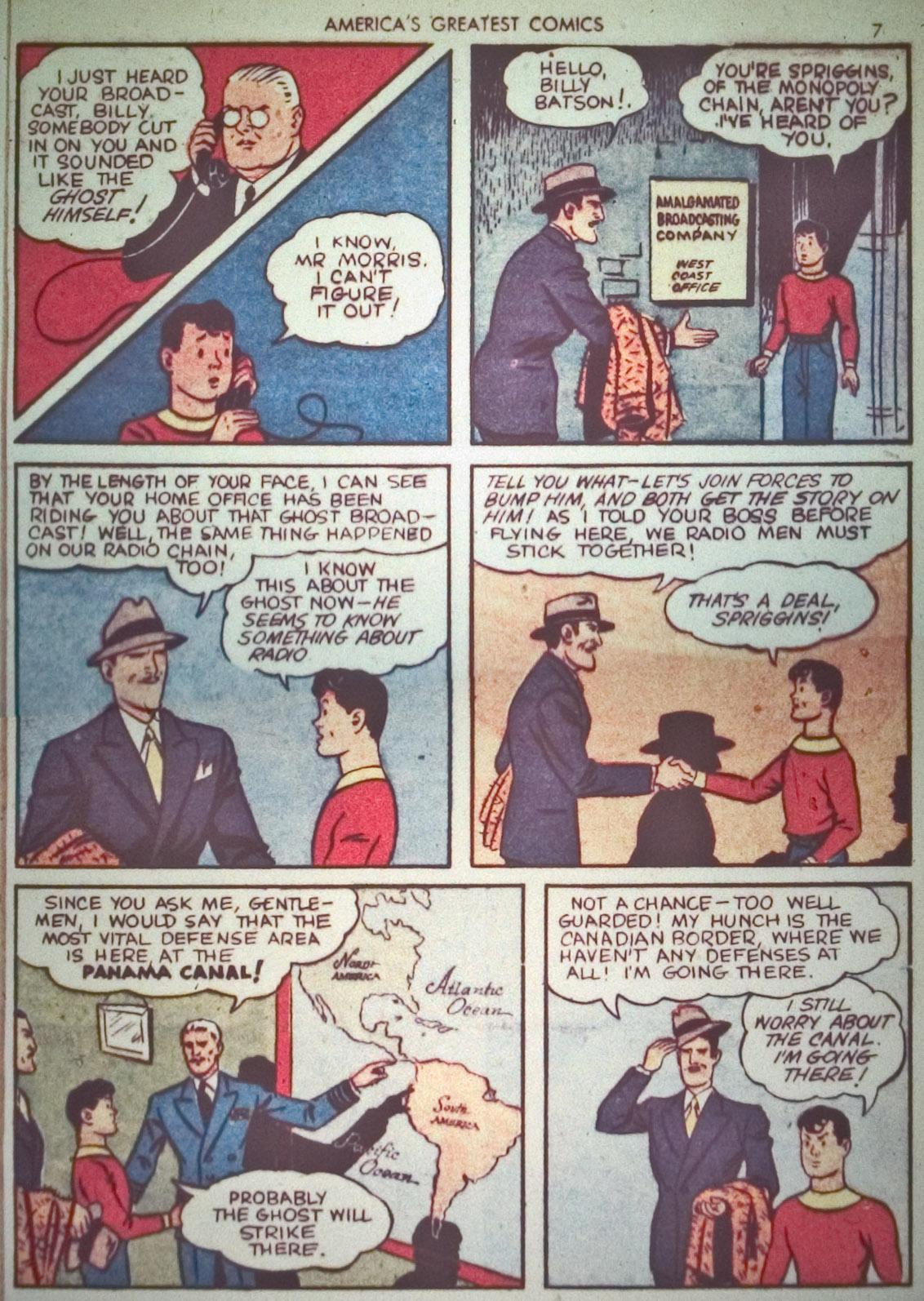 Read online America's Greatest Comics comic -  Issue #1 - 10