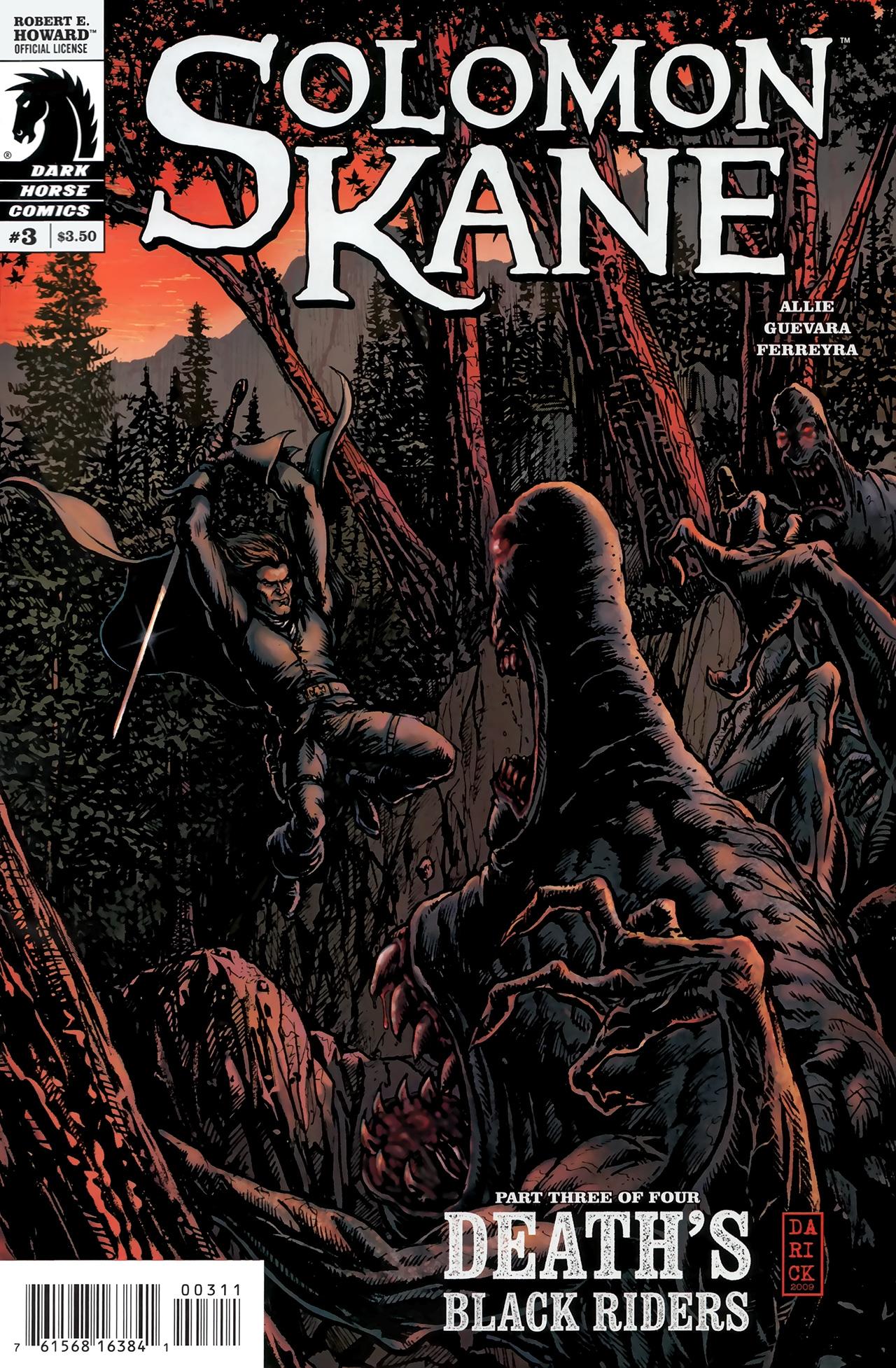 Read online Solomon Kane: Death's Black Riders comic -  Issue #3 - 1
