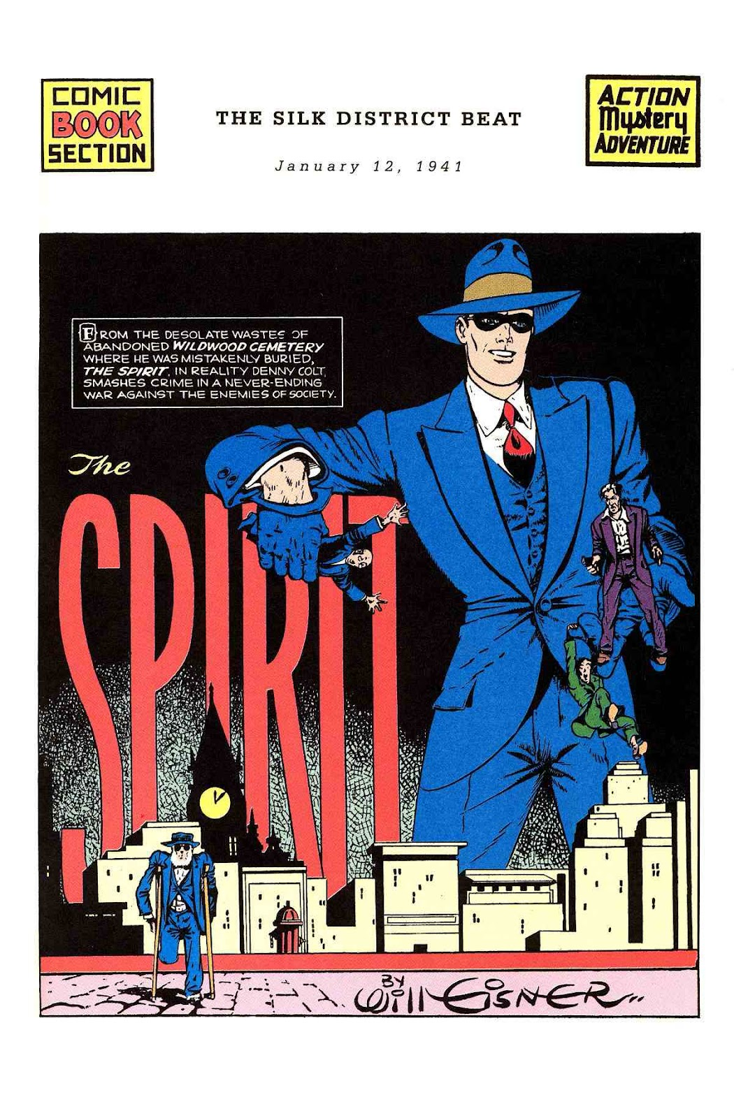 Read online Will Eisner's The Spirit Archives comic -  Issue # TPB 2 (Part 1) - 9