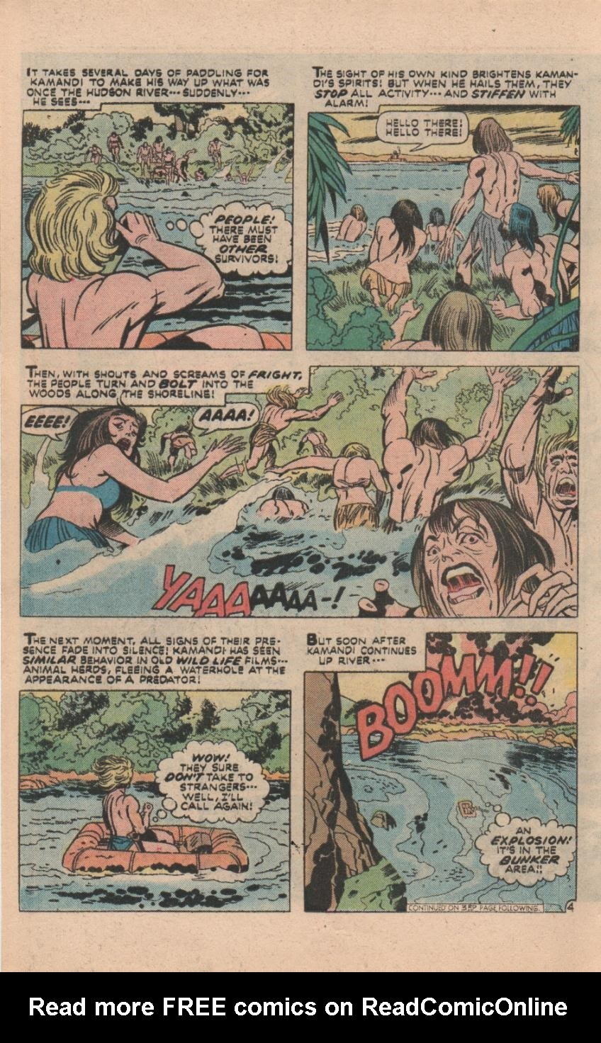 Kamandi, The Last Boy On Earth issue 32 - Page 33