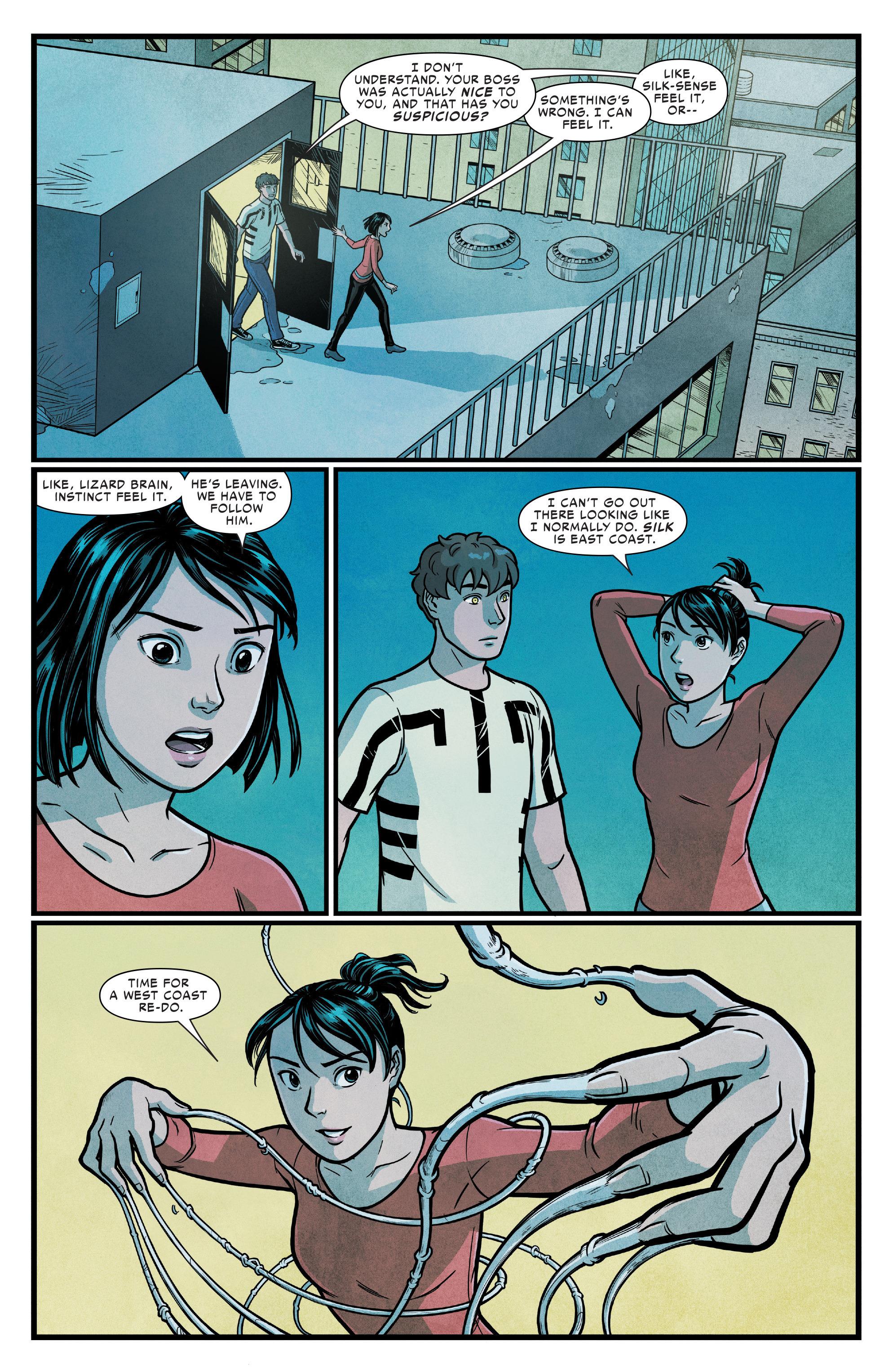 Read online Silk (2016) comic -  Issue #14 - 15