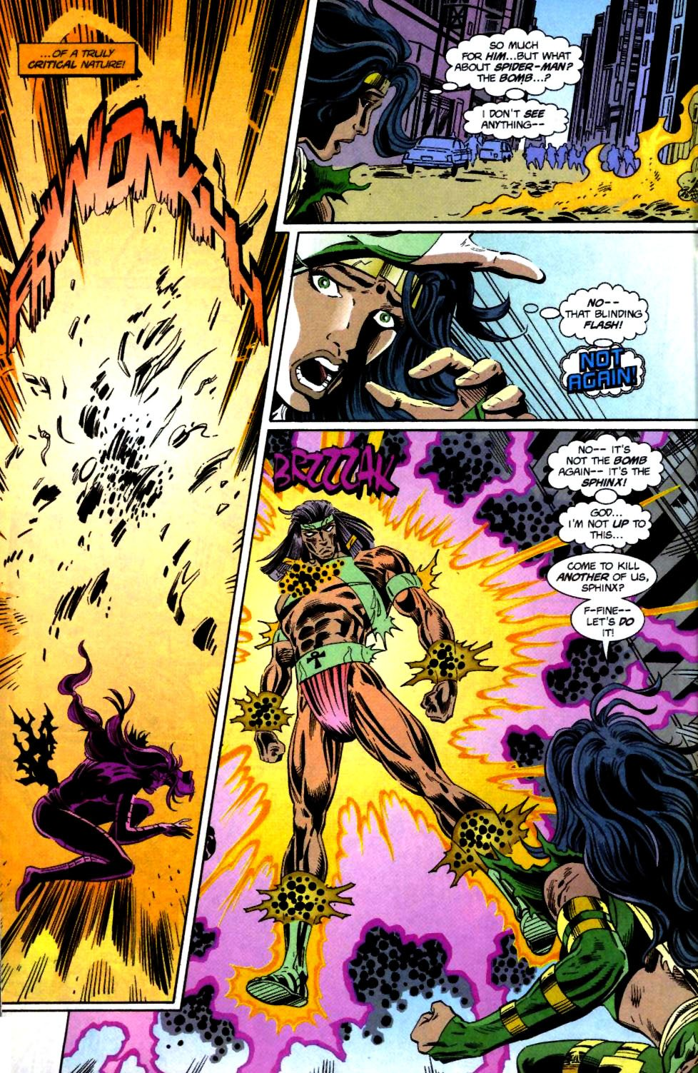 The New Warriors Issue #71 #75 - English 13