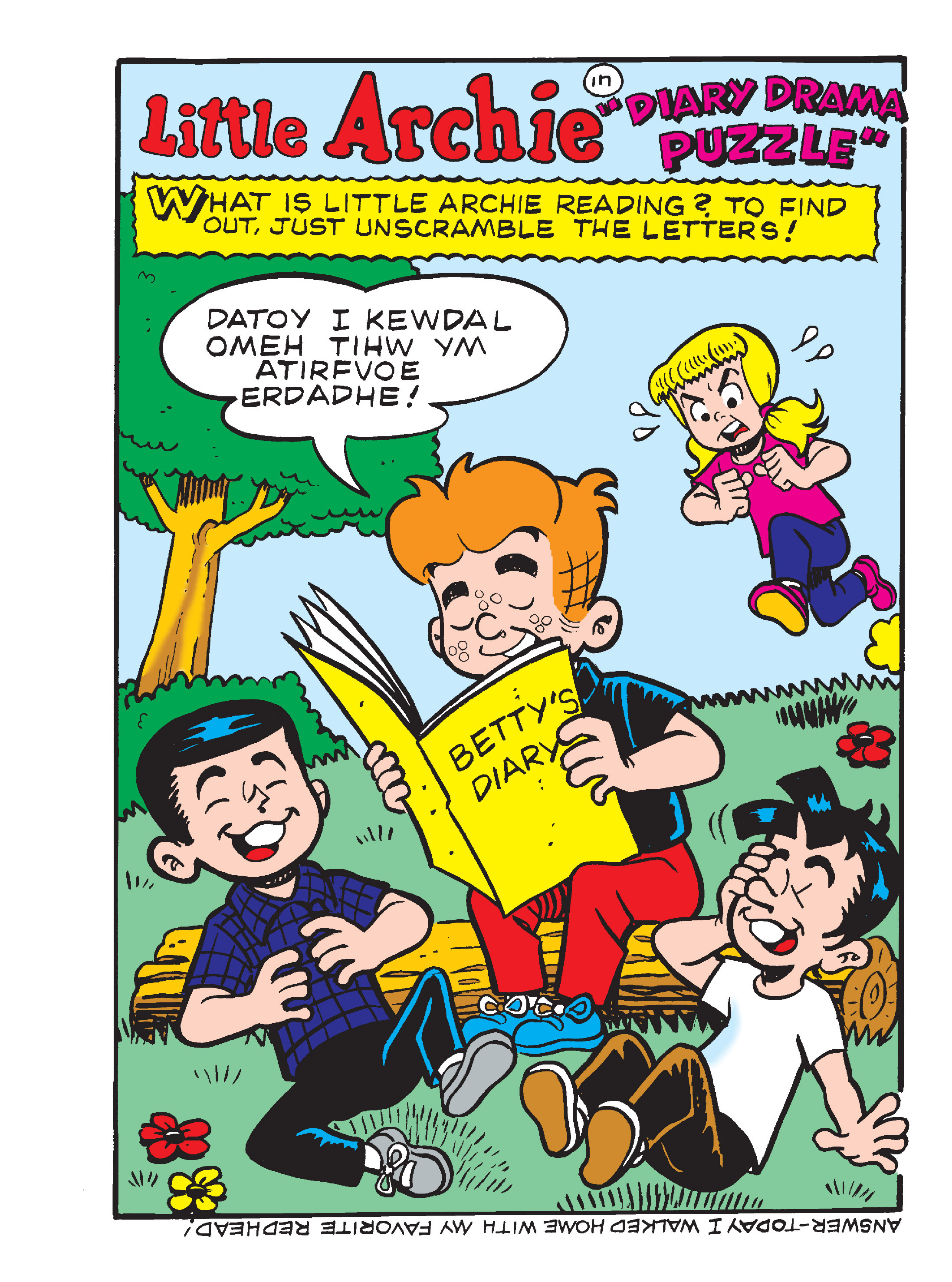 Read online Archie's Funhouse Double Digest comic -  Issue #17 - 136