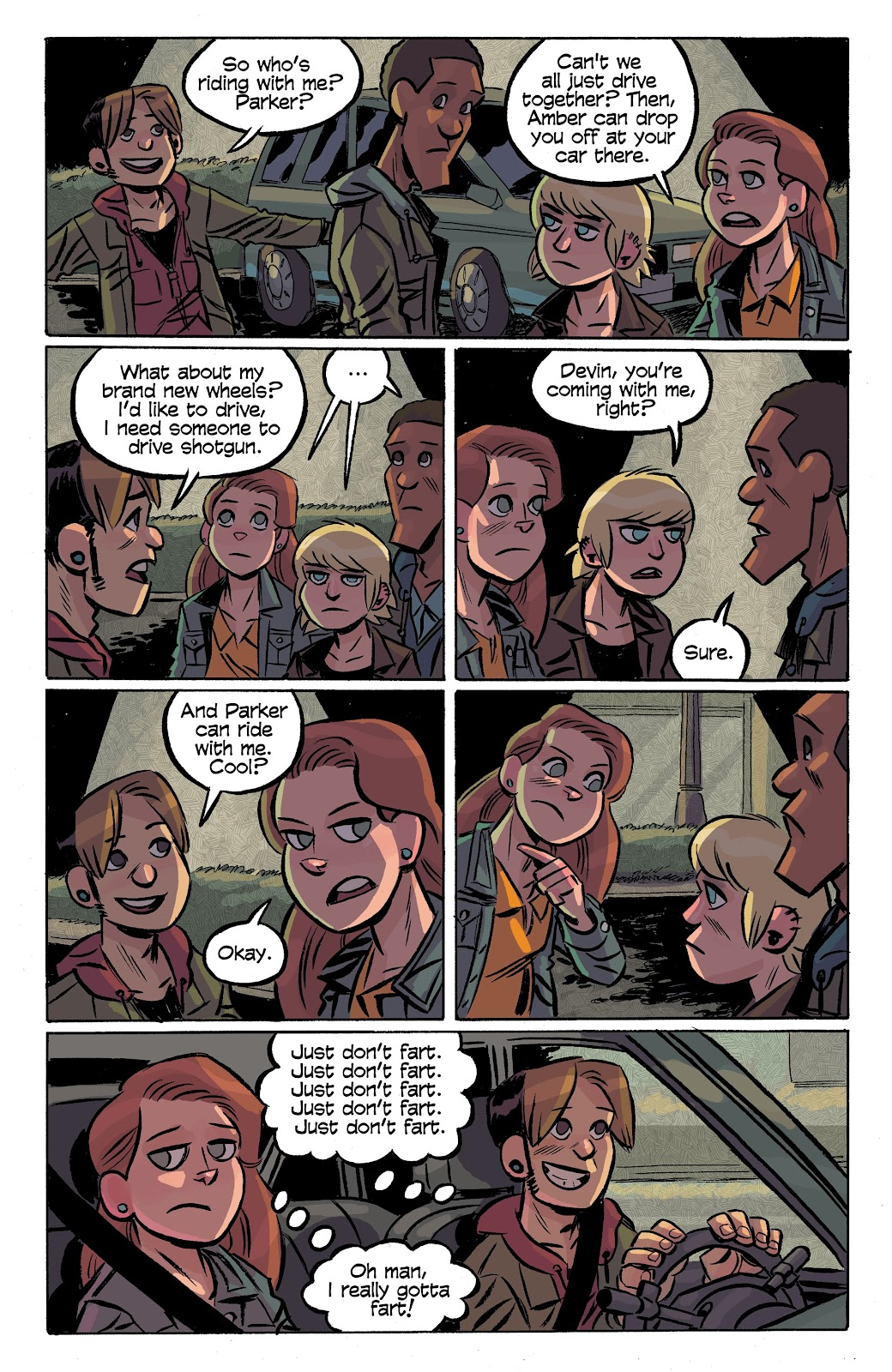 Read online Cellies comic -  Issue #7 - 10