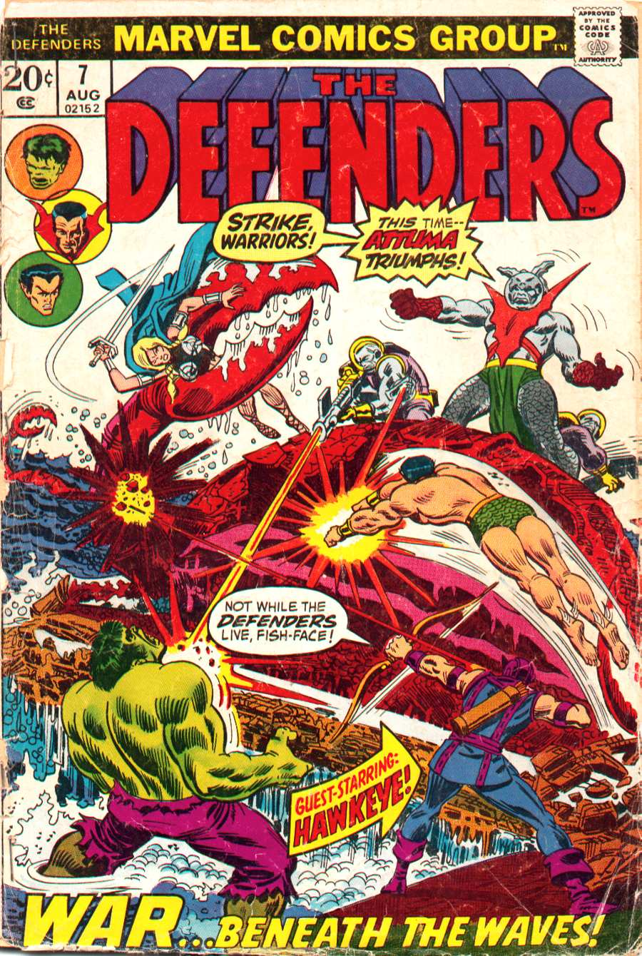 The Defenders (1972) 7 Page 1