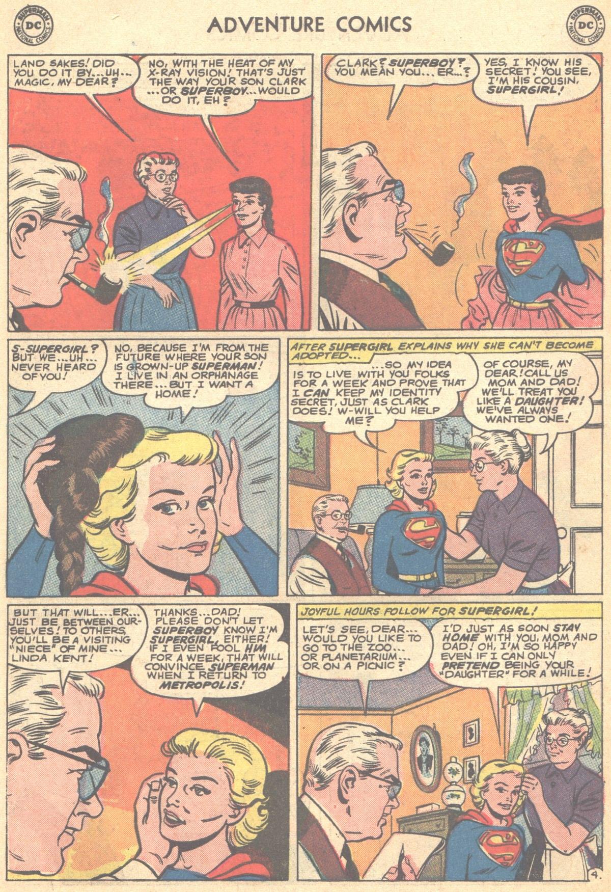 Read online Adventure Comics (1938) comic -  Issue #278 - 6