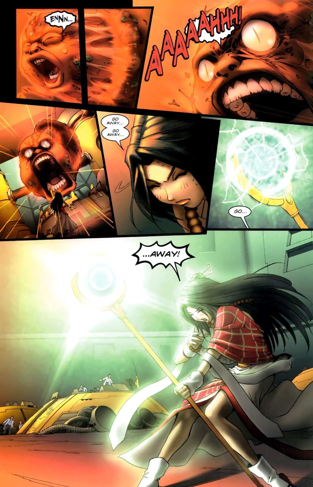 Read online Xin: Journey of the Monkey King comic -  Issue #1 - 14