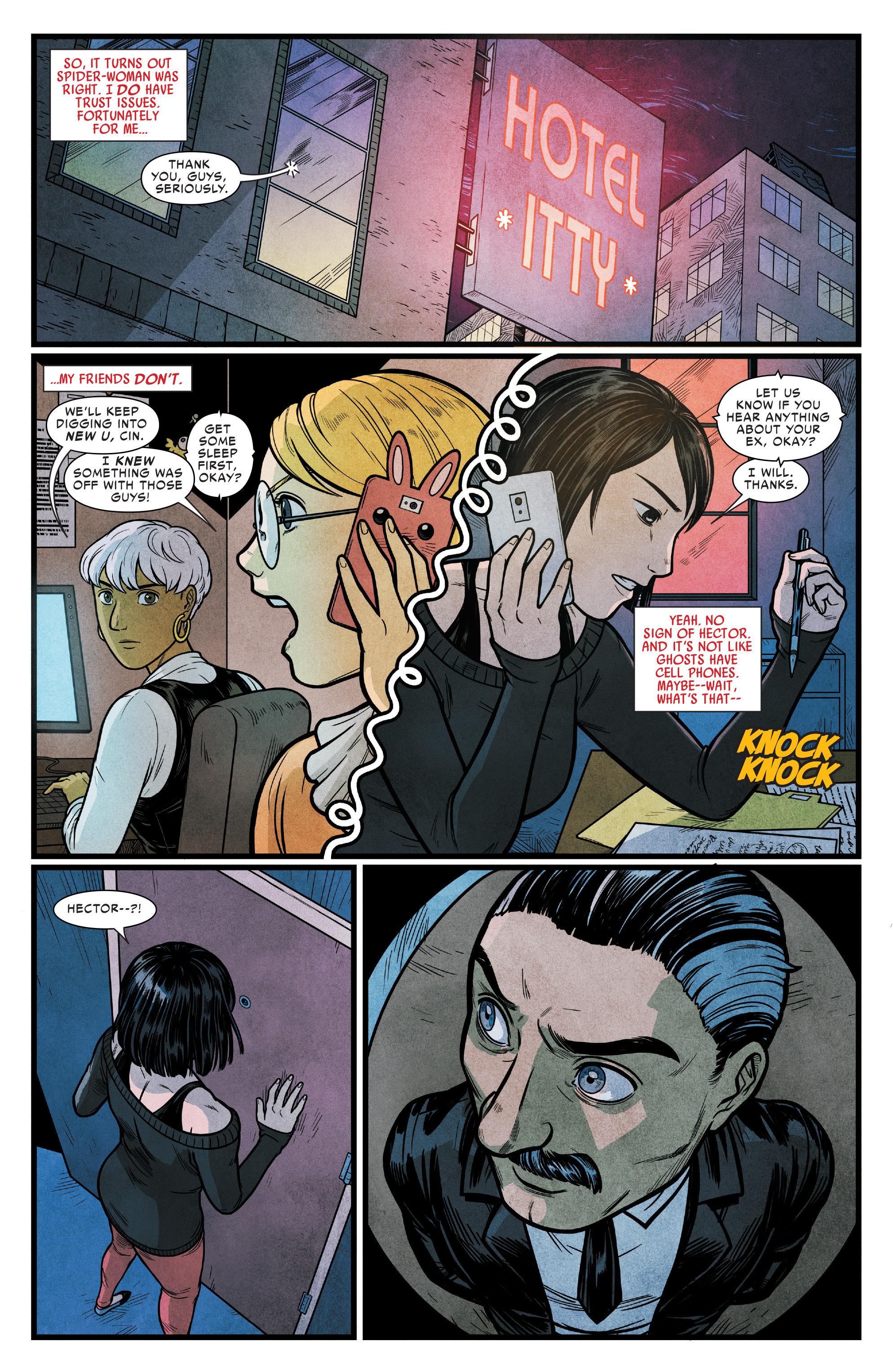 Read online Silk (2016) comic -  Issue #15 - 17