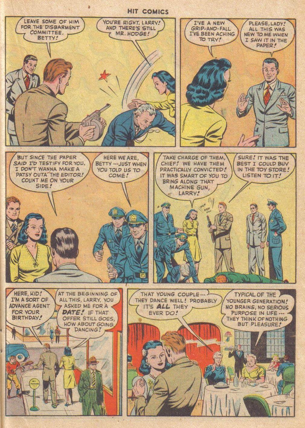 Read online Hit Comics comic -  Issue #46 - 37