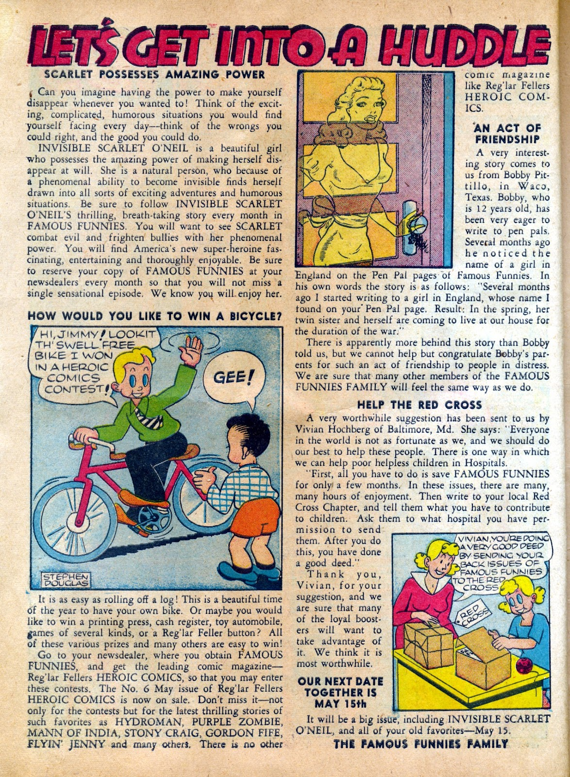 Read online Famous Funnies comic -  Issue #82 - 10