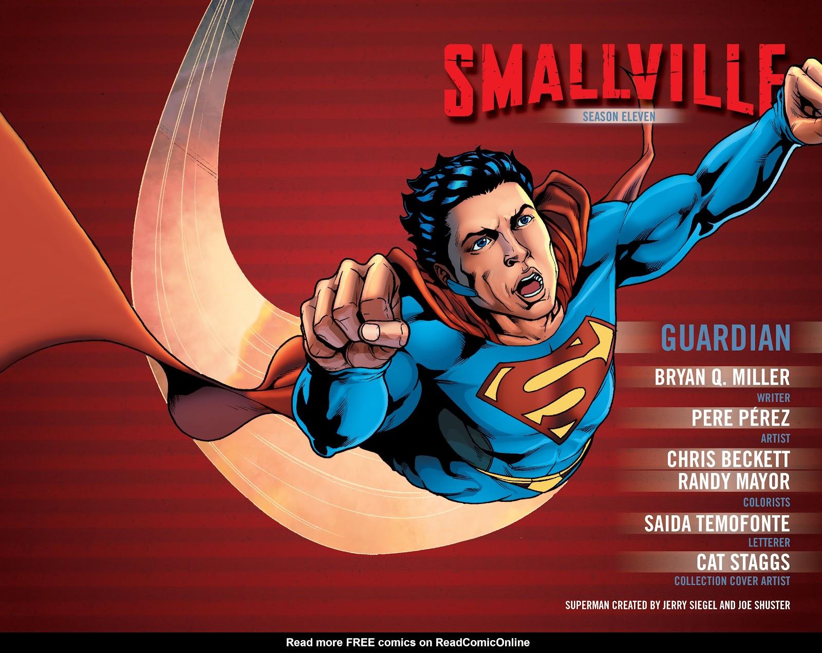 Read online Smallville Season 11 [II] comic -  Issue # TPB 1 - 3