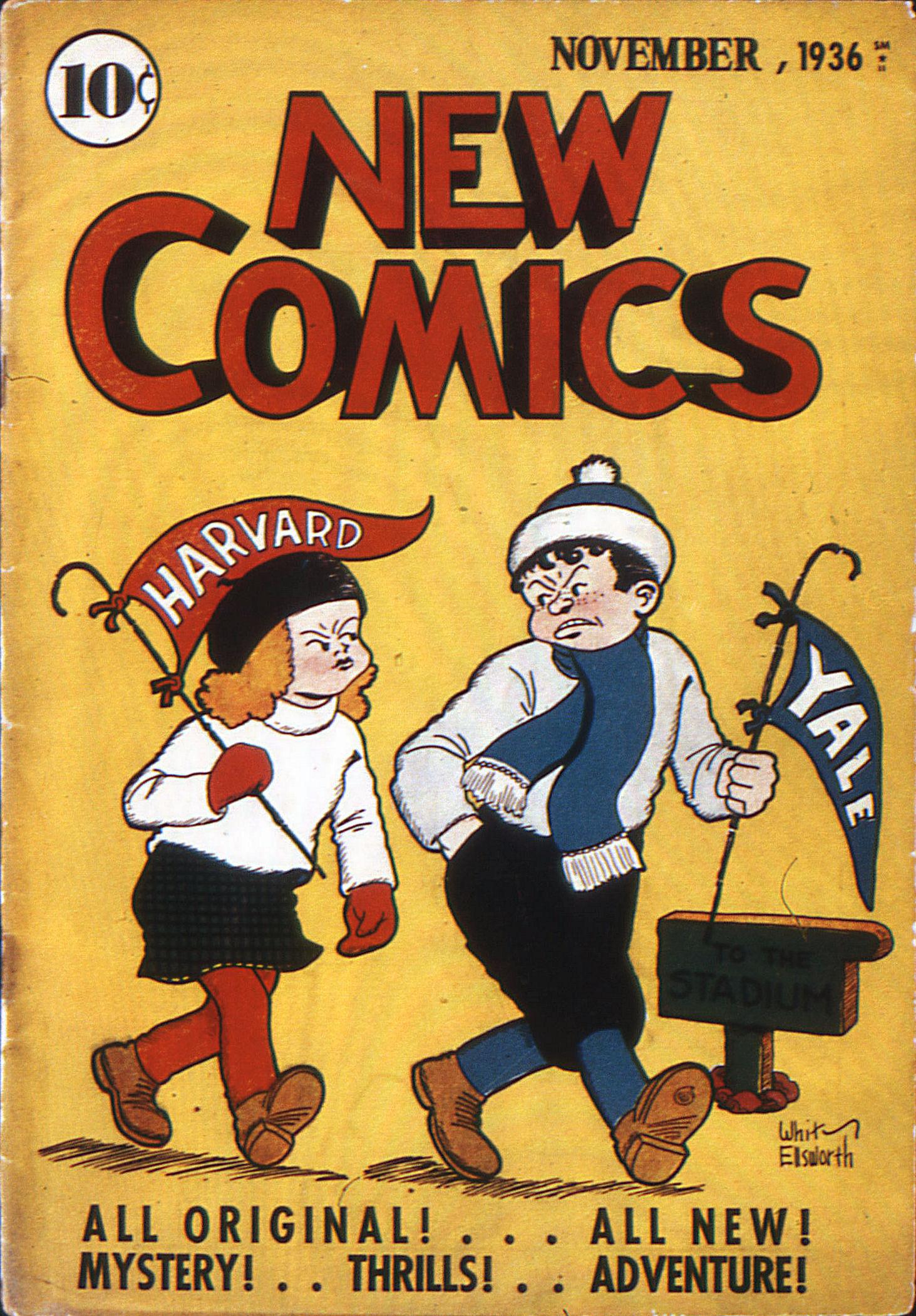 Read online Adventure Comics (1938) comic -  Issue #10 - 1