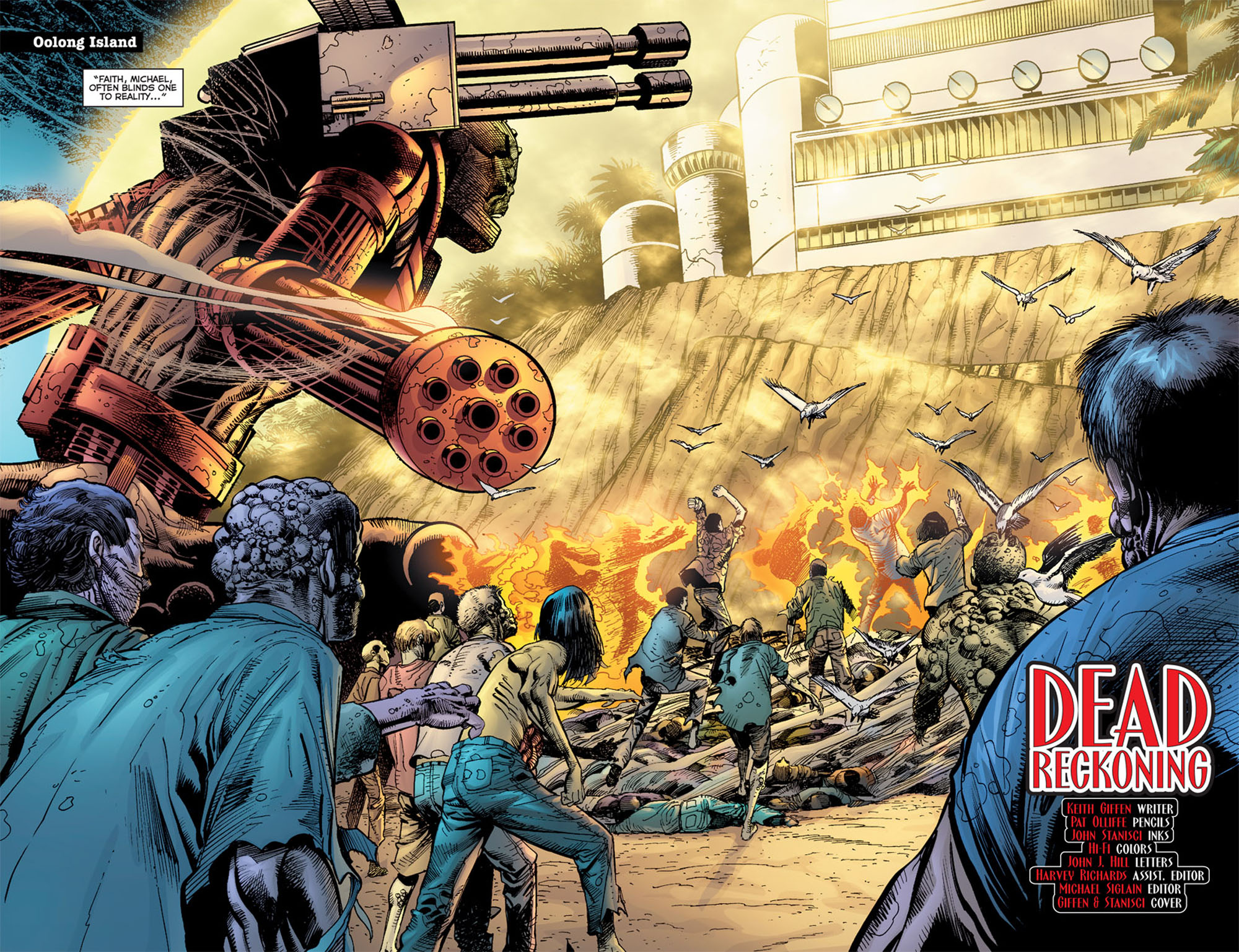 Read online 52 Aftermath: The Four Horsemen comic -  Issue #5 - 4