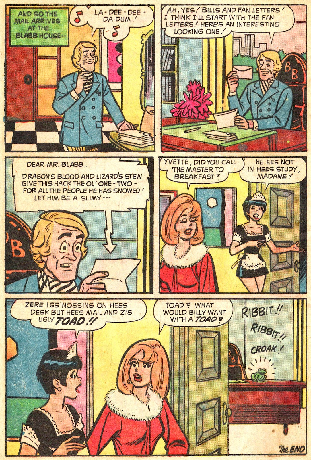Sabrina The Teenage Witch (1971) Issue #20 #20 - English 8