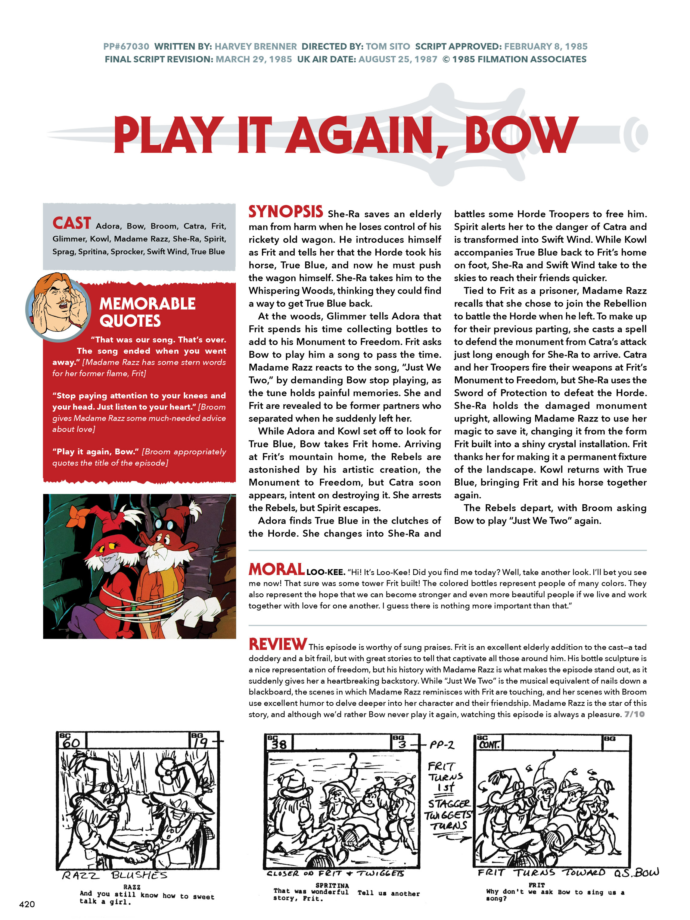 Read online He-Man and She-Ra: A Complete Guide to the Classic Animated Adventures comic -  Issue # TPB (Part 3) - 21