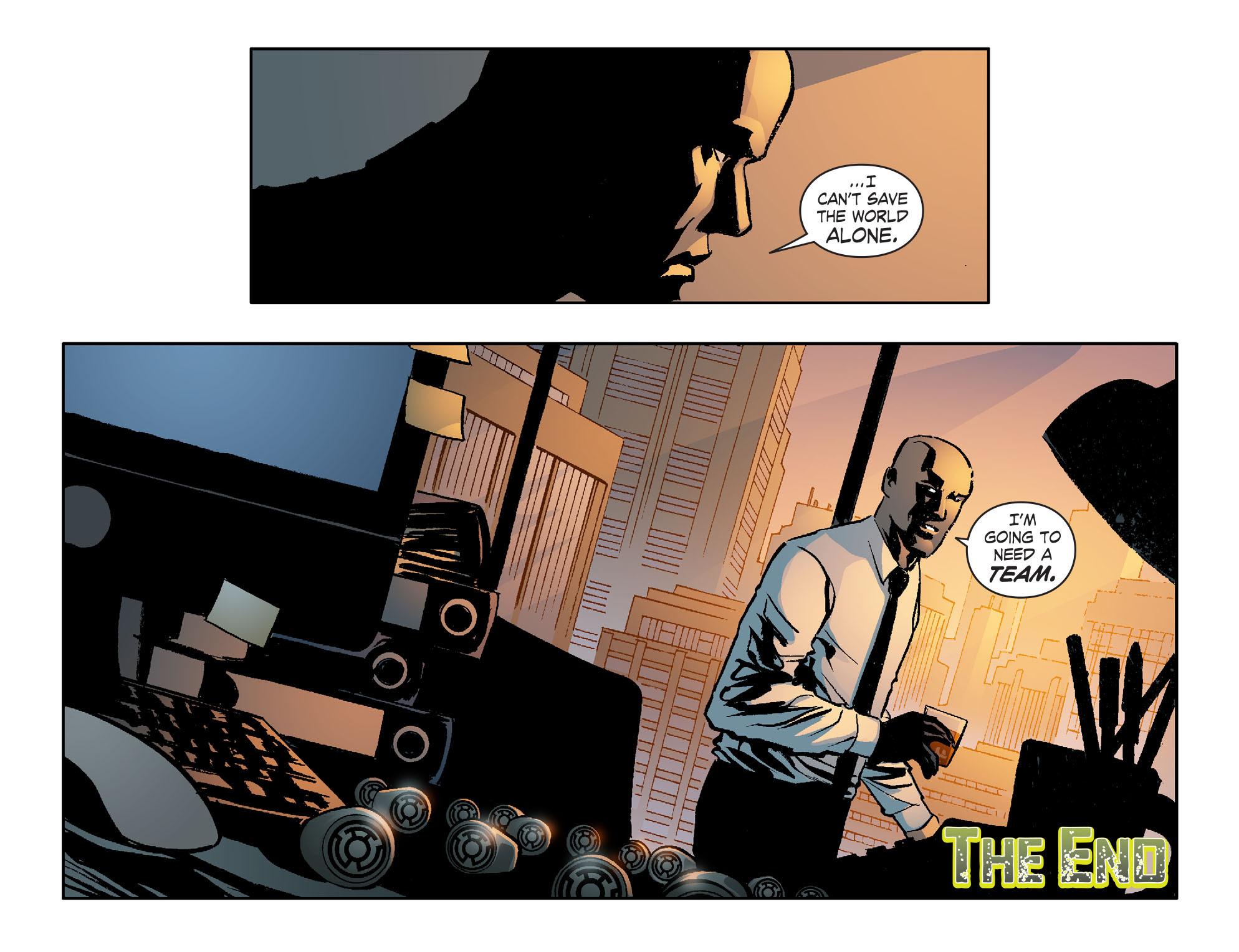 Read online Smallville: Lantern [I] comic -  Issue #12 - 22