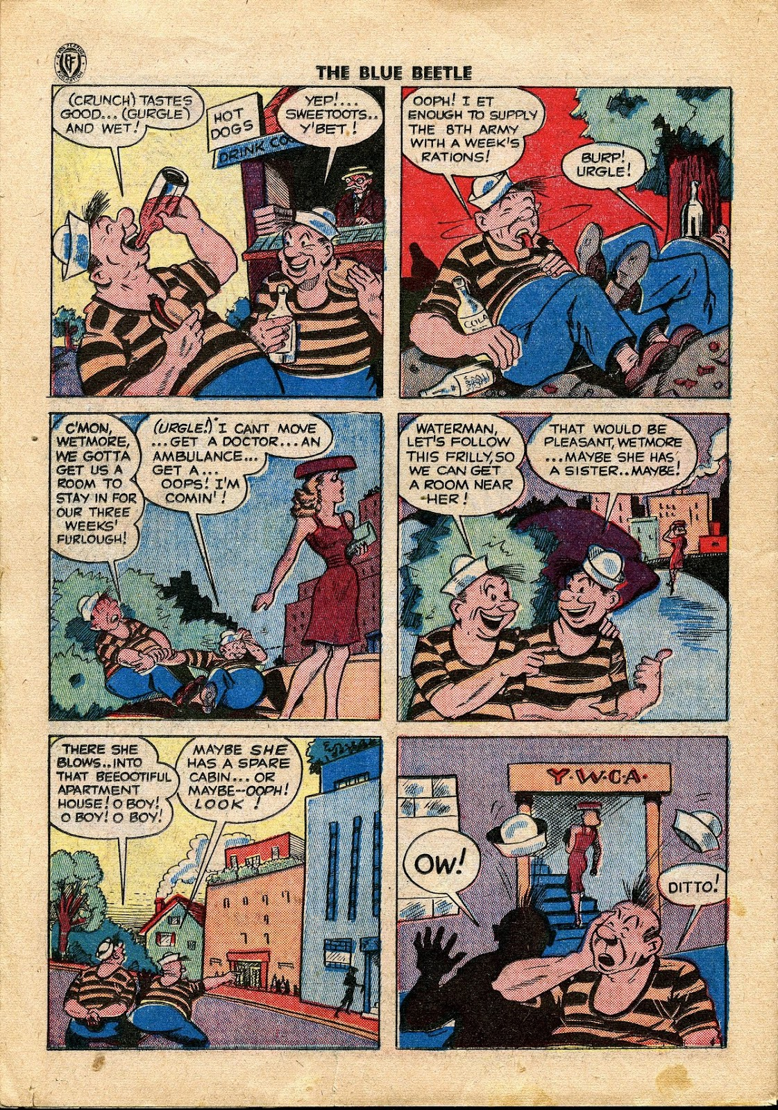 The Blue Beetle issue 34 - Page 29