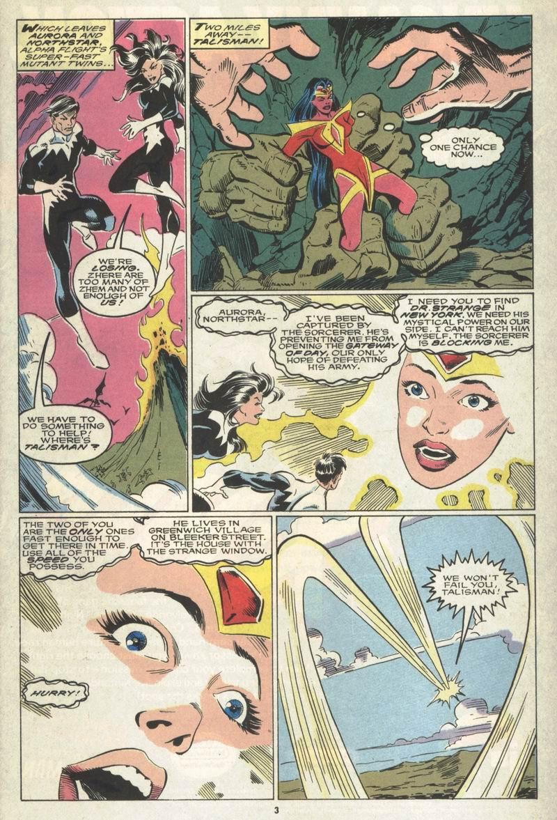 Read online Alpha Flight (1983) comic -  Issue #86 - 4