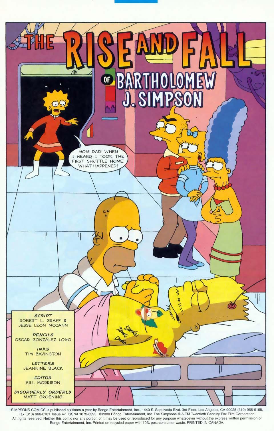 Read online Simpsons Comics comic -  Issue #47 - 2