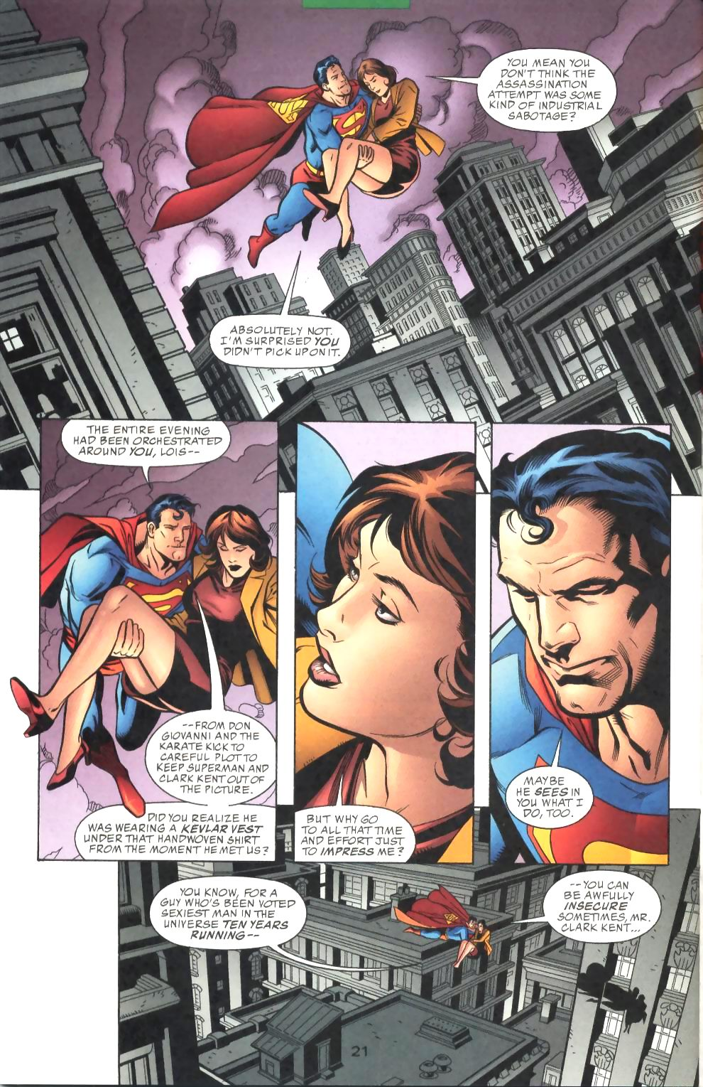 Read online Adventures of Superman (1987) comic -  Issue #575 - 22
