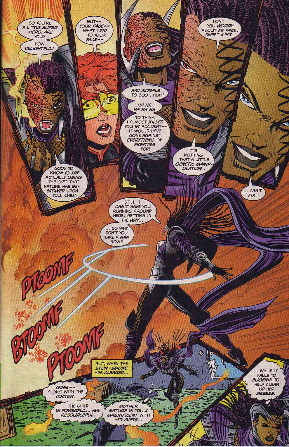 The New Warriors Issue #63 #67 - English 18