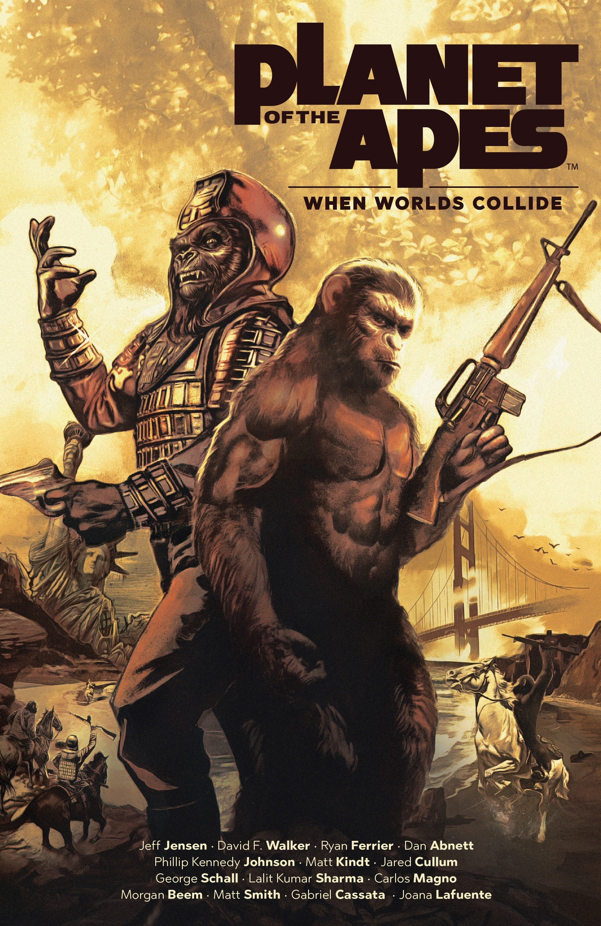 Planet of the Apes: When Worlds Collide TPB Page 1