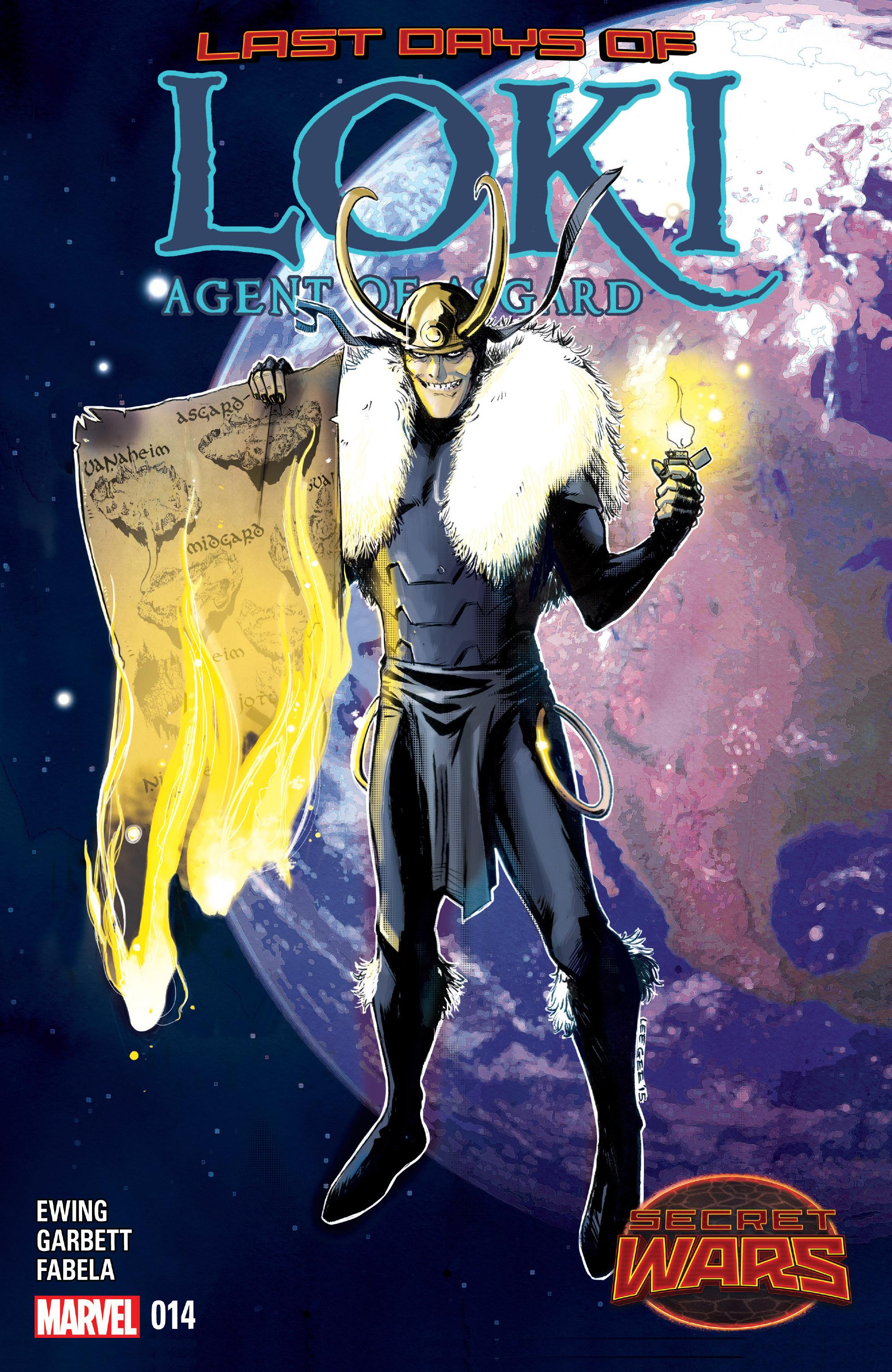 Loki: Agent of Asgard 14 Page 1
