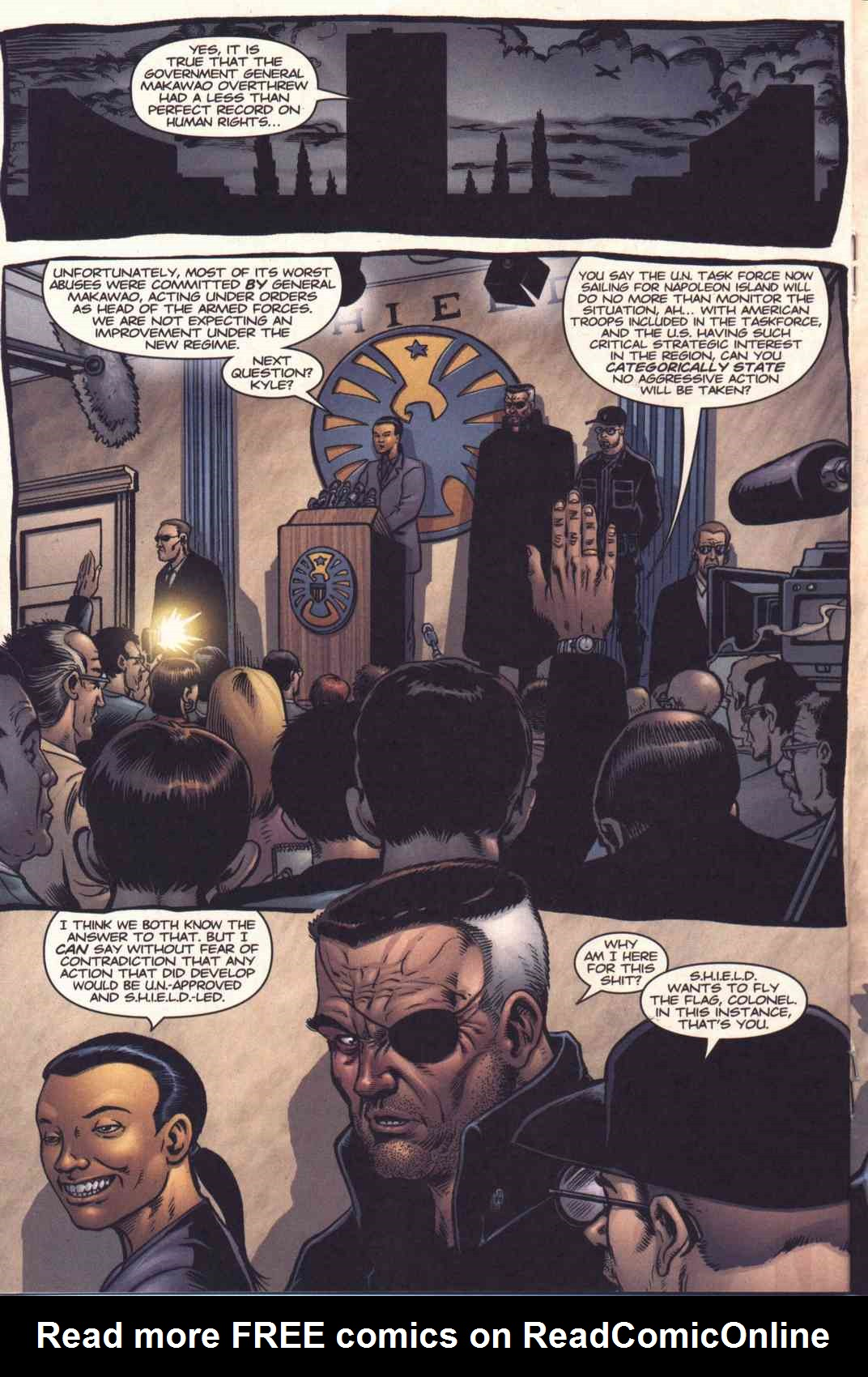 Read online Fury comic -  Issue #3 - 13