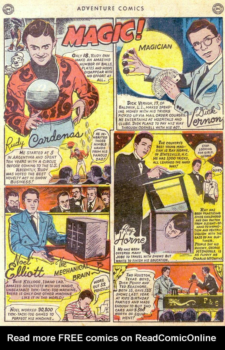 Read online Adventure Comics (1938) comic -  Issue #161 - 50