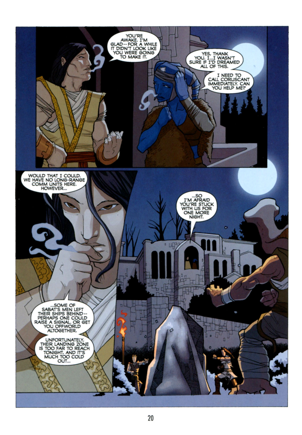Read online Star Wars: The Clone Wars - Deadly Hands of Shon-Ju comic -  Issue # Full - 21