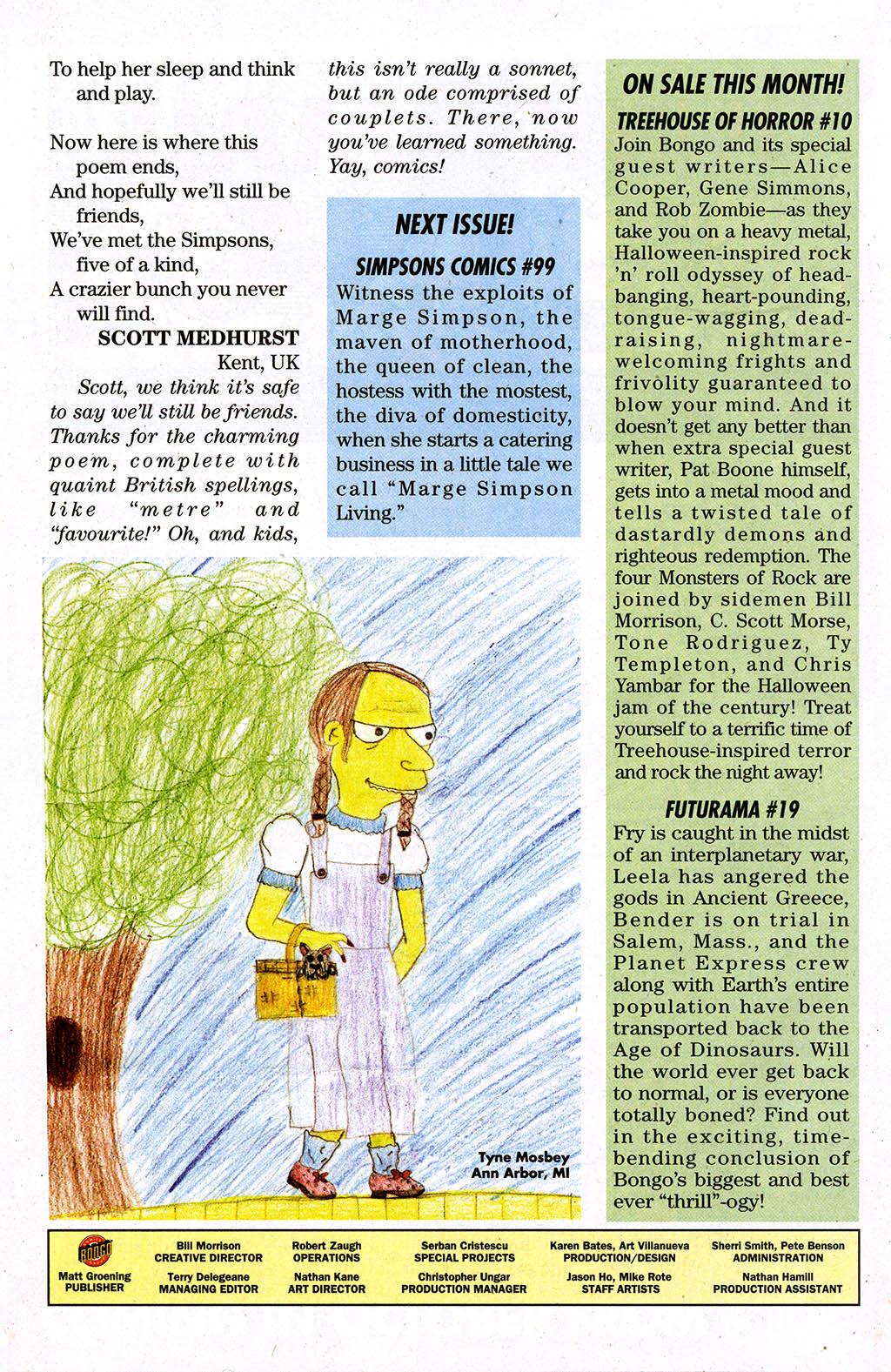 Read online Simpsons Comics comic -  Issue #98 - 29