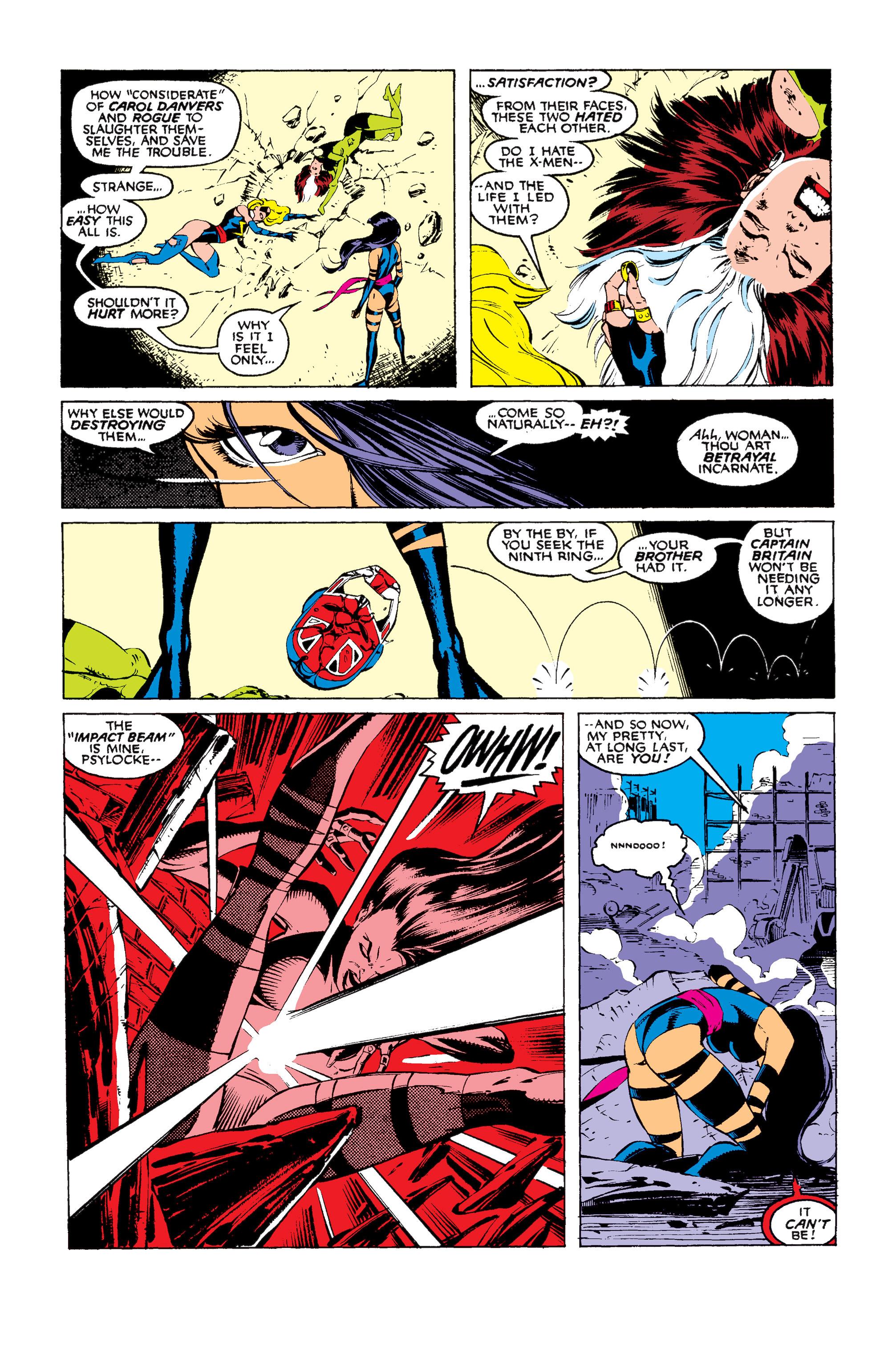 Read online Uncanny X-Men (1963) comic -  Issue #256 - 19