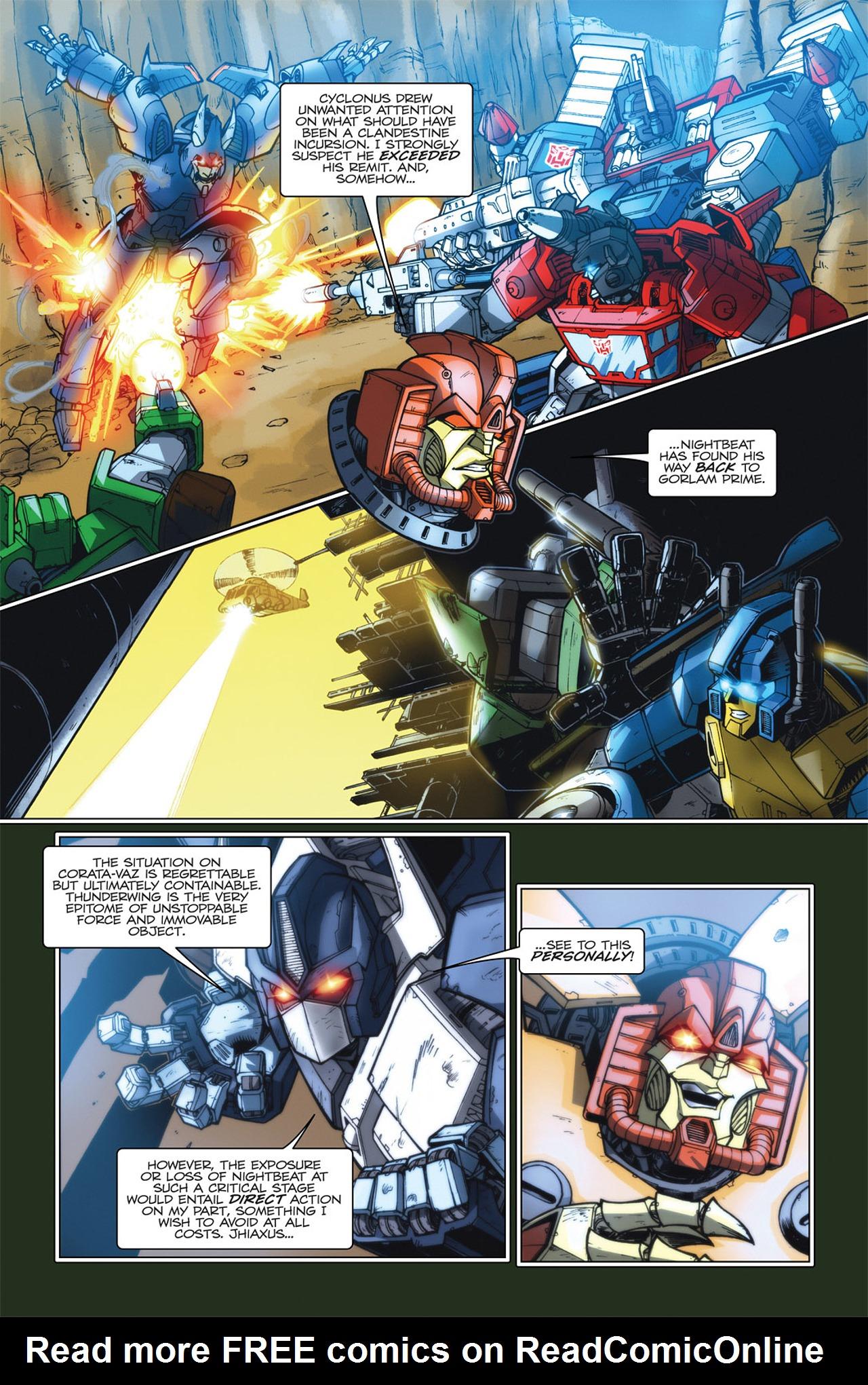 Read online Transformers Spotlight: Hardhead comic -  Issue # Full - 14